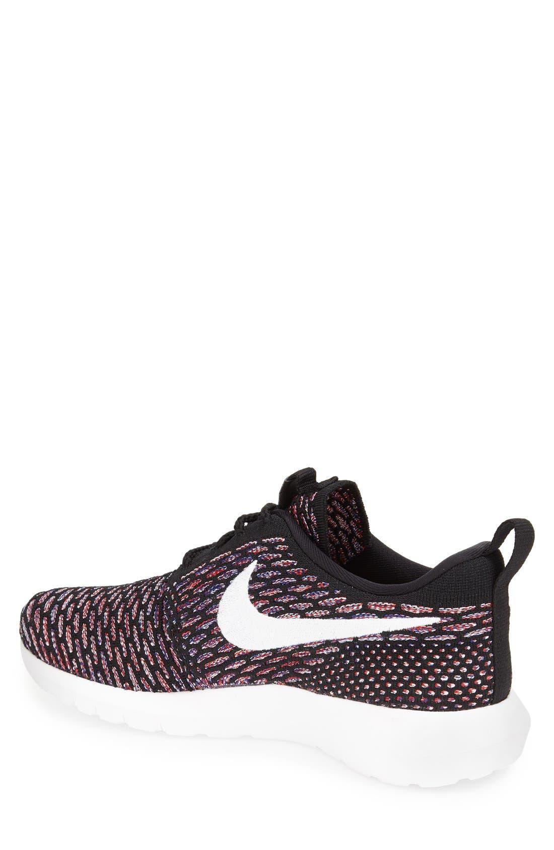 Alternate Image 2  - Nike Flyknit 'Roshe Run' Sneaker (Men)