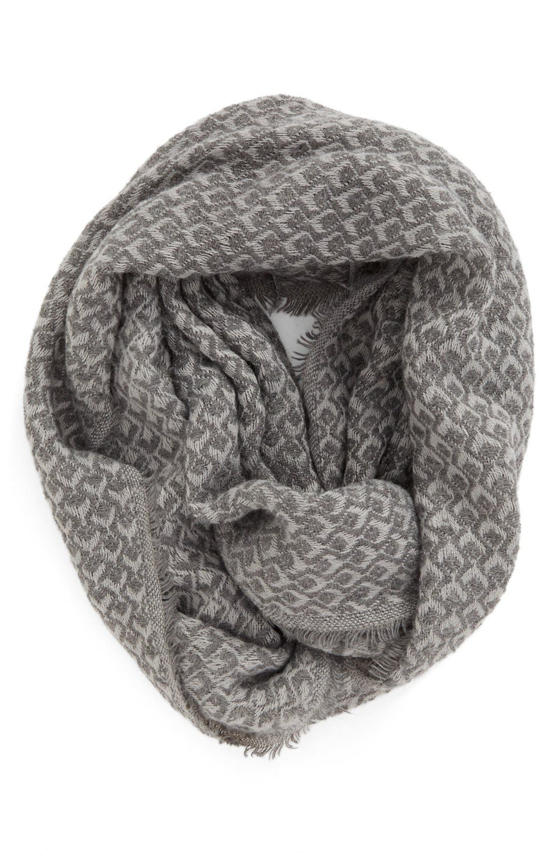 Main Image - BP. Textured Knit Infinity Scarf