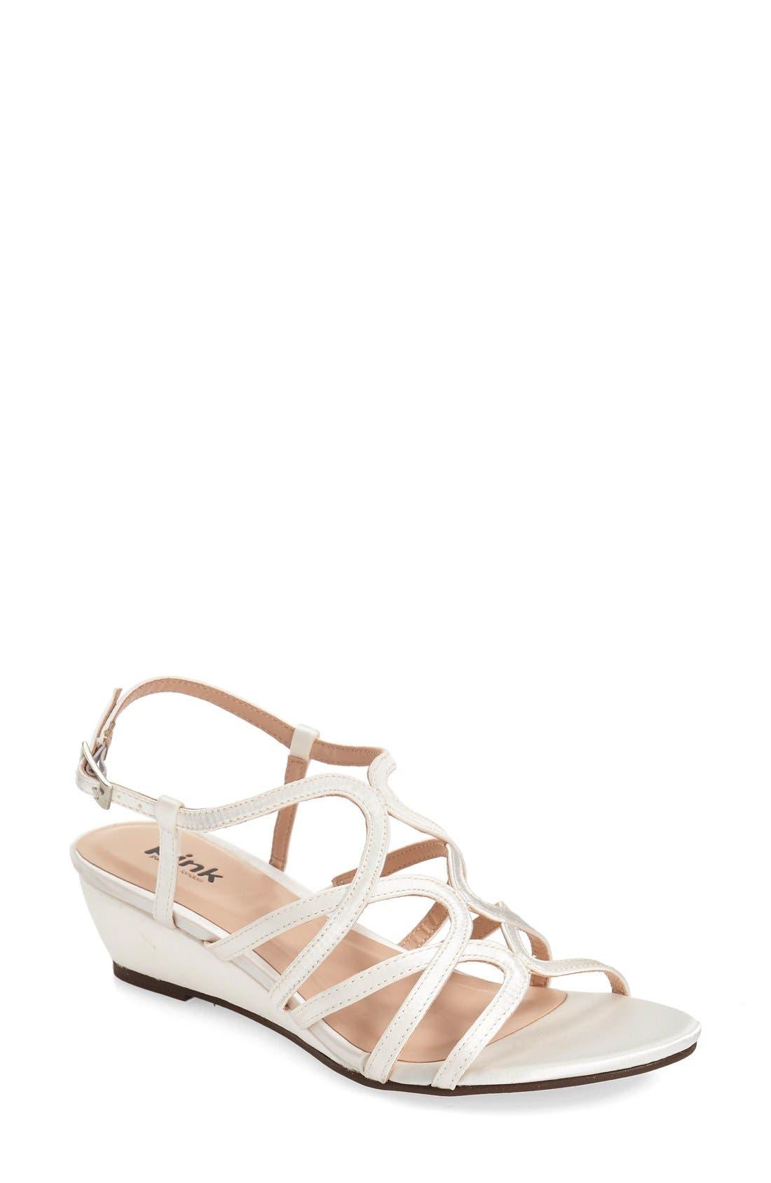 Alternate Image 1 Selected - pink paradox london 'Opulent' Wedge Sandal (Women)