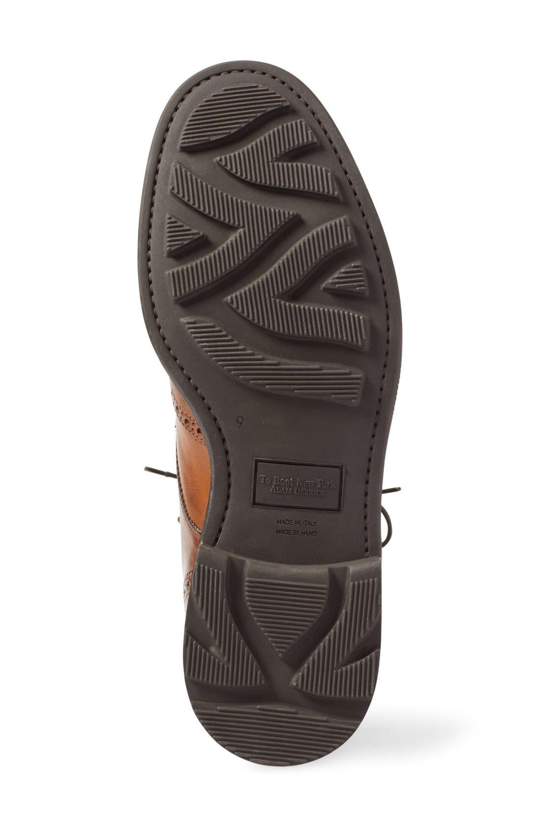 Alternate Image 4  - To Boot New York 'Hobson' Wingtip Boot (Men)
