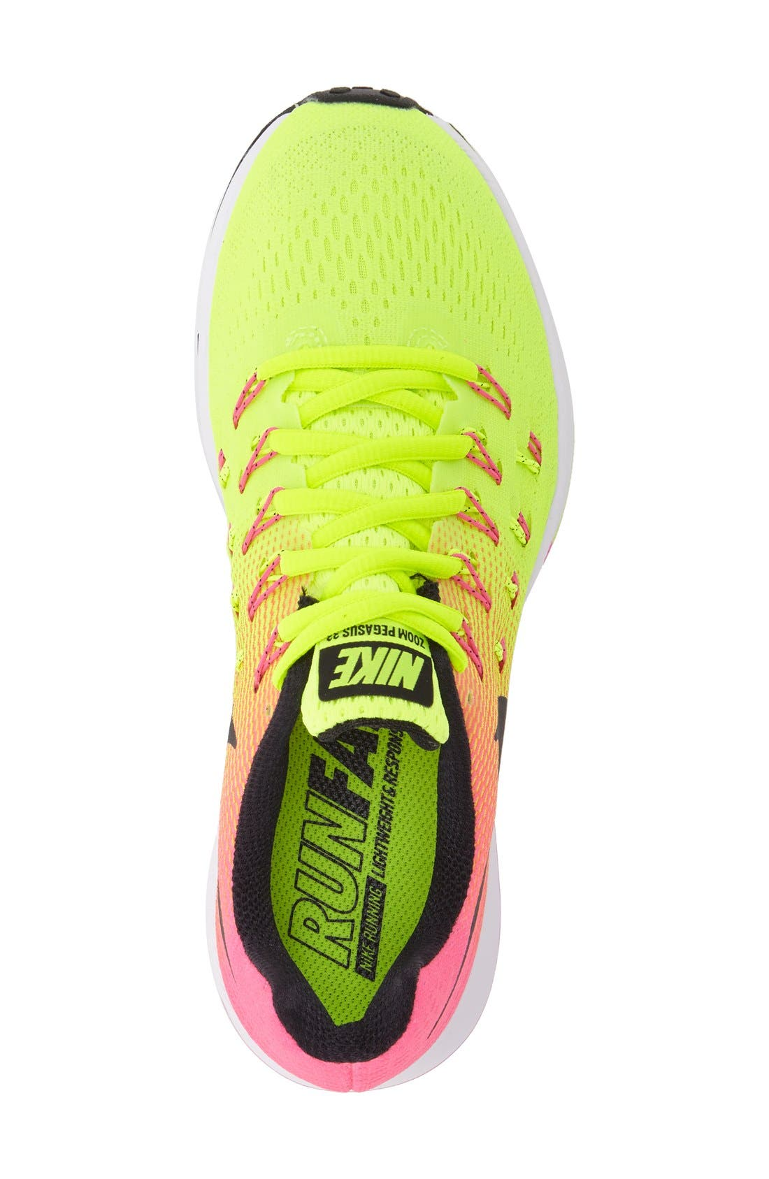 Alternate Image 3  - Nike 'Air Zoom Pegasus 33' Sneaker (Women)