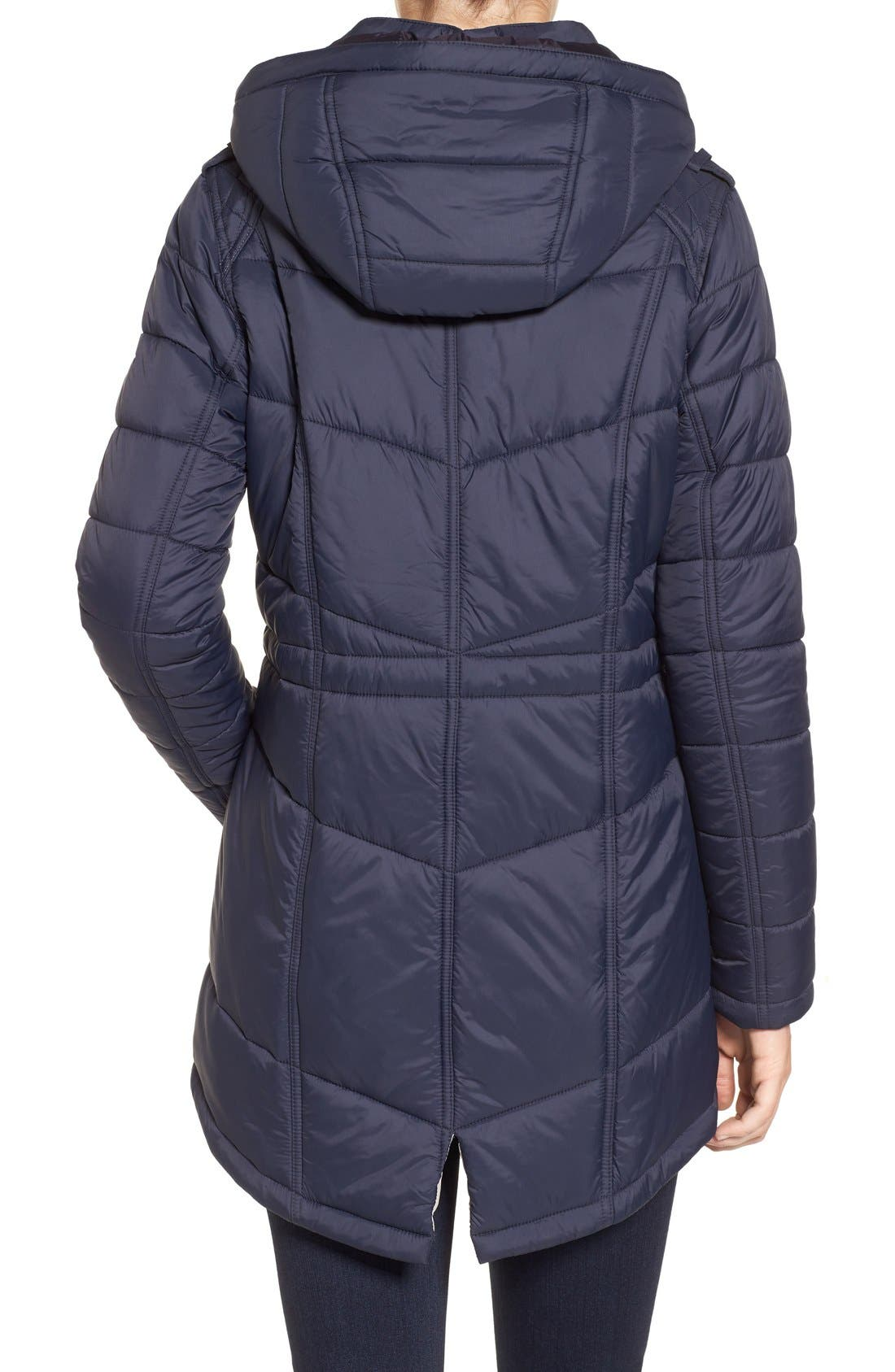 Alternate Image 3  - Barbour 'Circlip' Water Resistant Quilted Coat