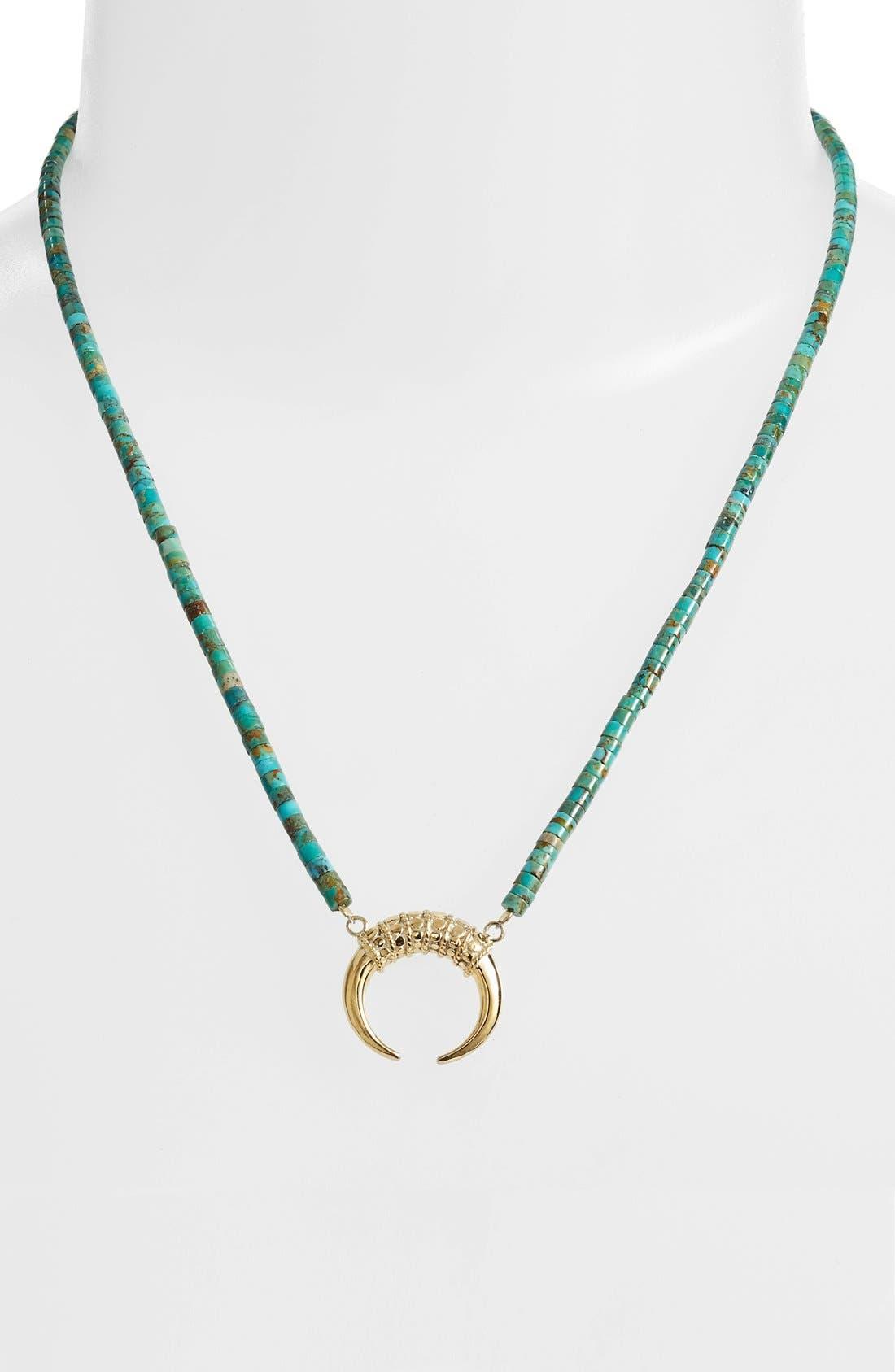 Alternate Image 2  - Anna Beck Horn Pendant Necklace
