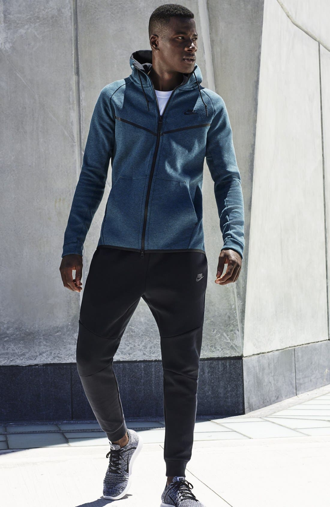 Alternate Image 6  - Nike 'Windrunner' Tech Fleece Hoodie
