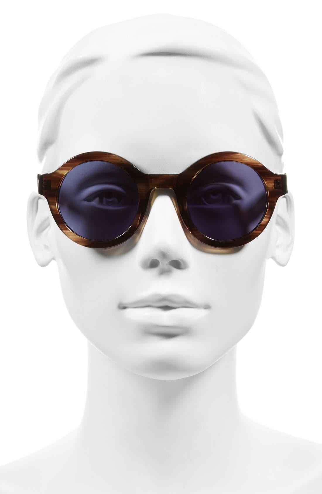 Alternate Image 2  - Derek Lam 'Luna' 47mm Round Sunglasses