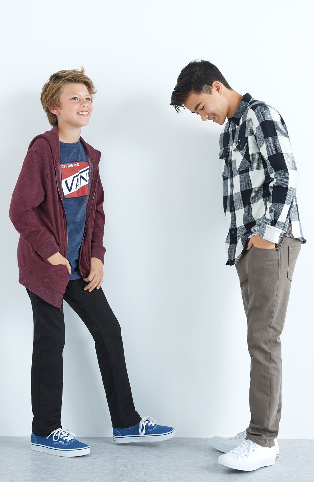 Alternate Image 5  - Volcom Vorta Slim Fit Jeans (Big Boys)