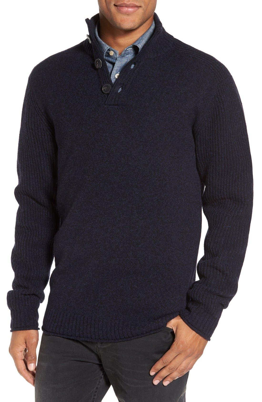 Alternate Image 1 Selected - Rodd & Gunn Birkenhead Mock Neck Sweater