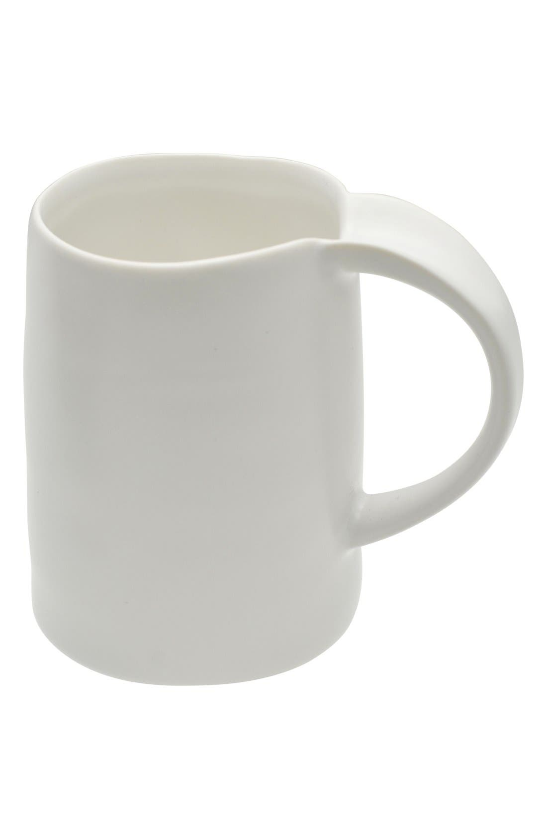 Alternate Image 2  - 10 Strawberry Street 'Ripple' Porcelain Mugs (Set of 6)