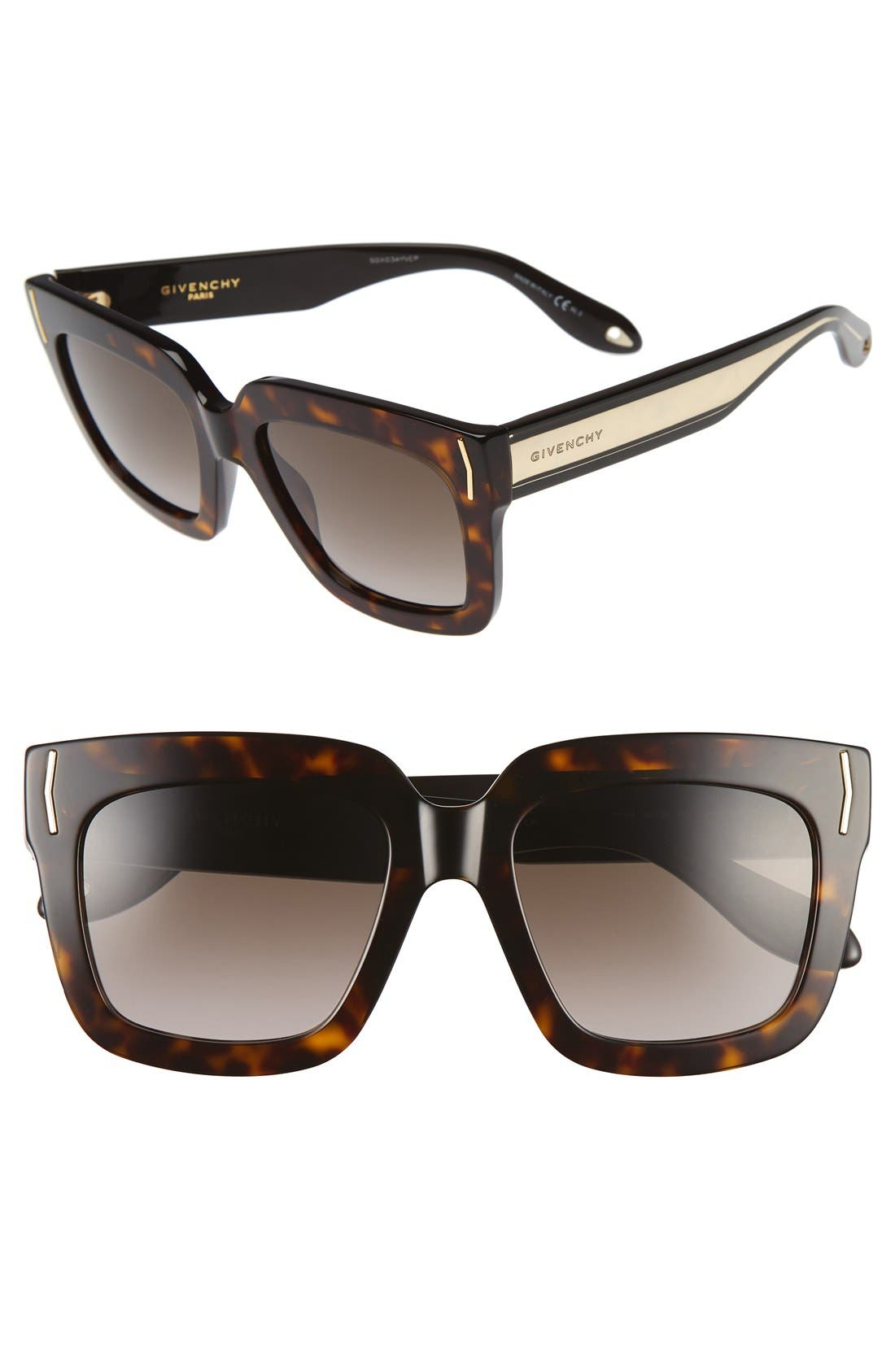 Alternate Image 1 Selected - Givenchy 53mm Sunglasses