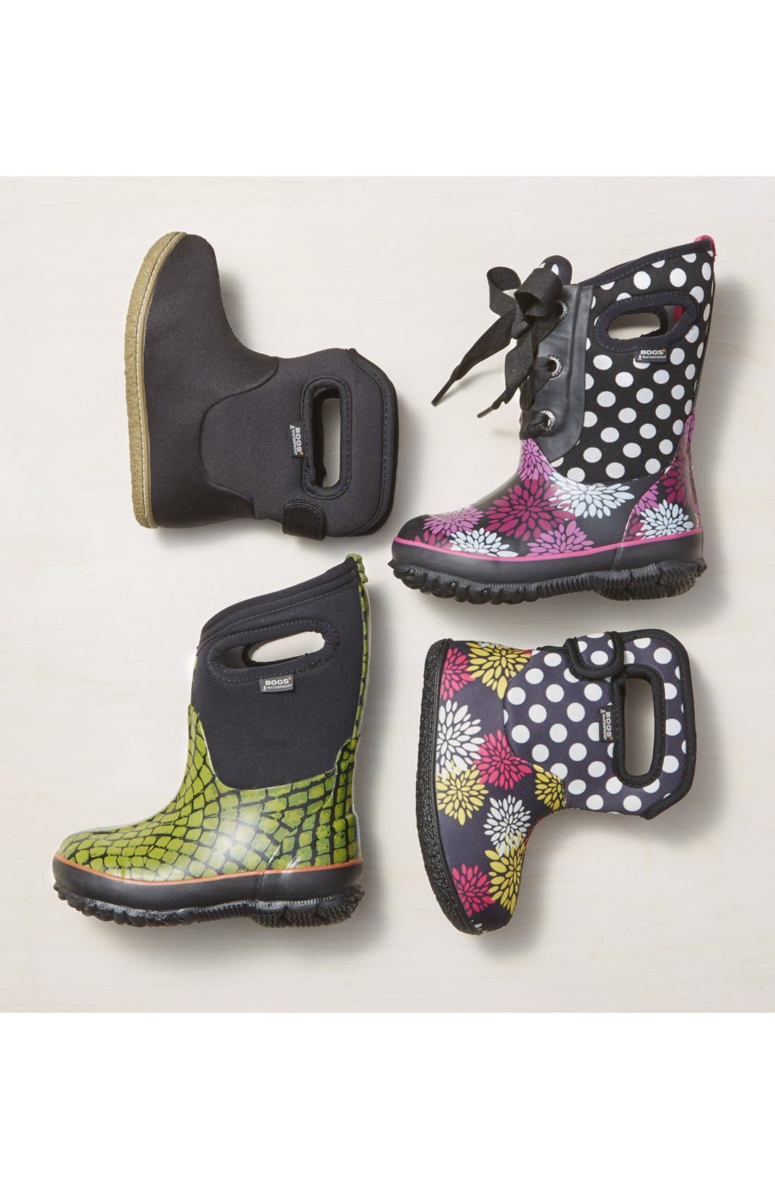 Baby Bogs Insulated Waterproof Rain Boot,                             Alternate thumbnail 6, color,