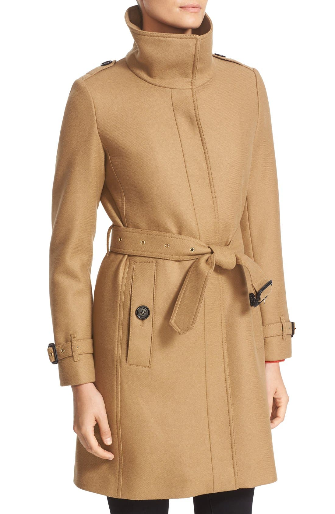 Alternate Image 6  - Burberry Gibbsmoore Funnel Collar Trench Coat (Nordstrom Exclusive)