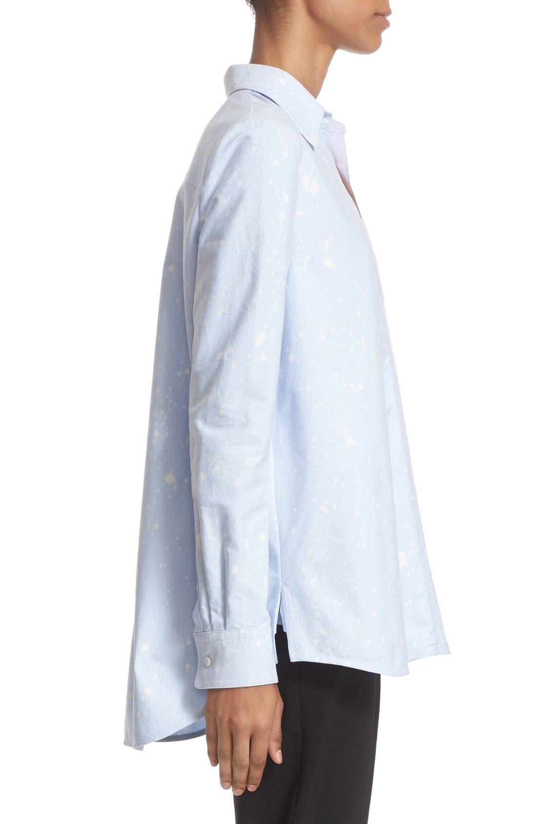 Alternate Image 5  - Alexander Wang Bleach Splatter A-Line Tunic Top