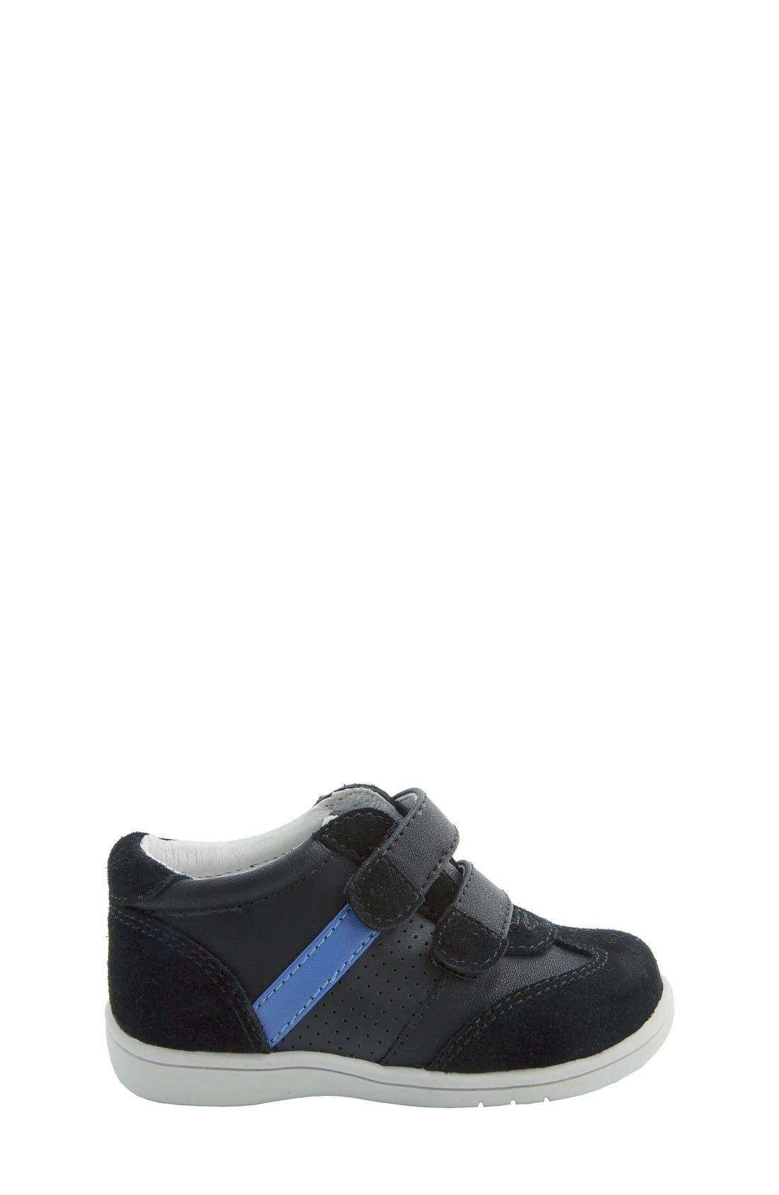 Nina 'Everest' Sneaker,                             Alternate thumbnail 2, color,                             Black Burnished