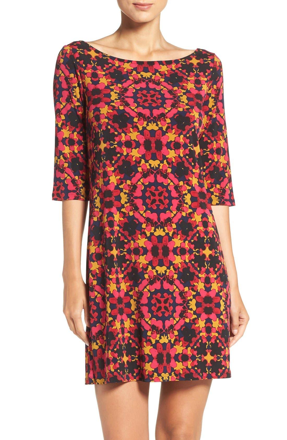 Alternate Image 1 Selected - Leota Dolman Sleeve Jersey Sheath Dress