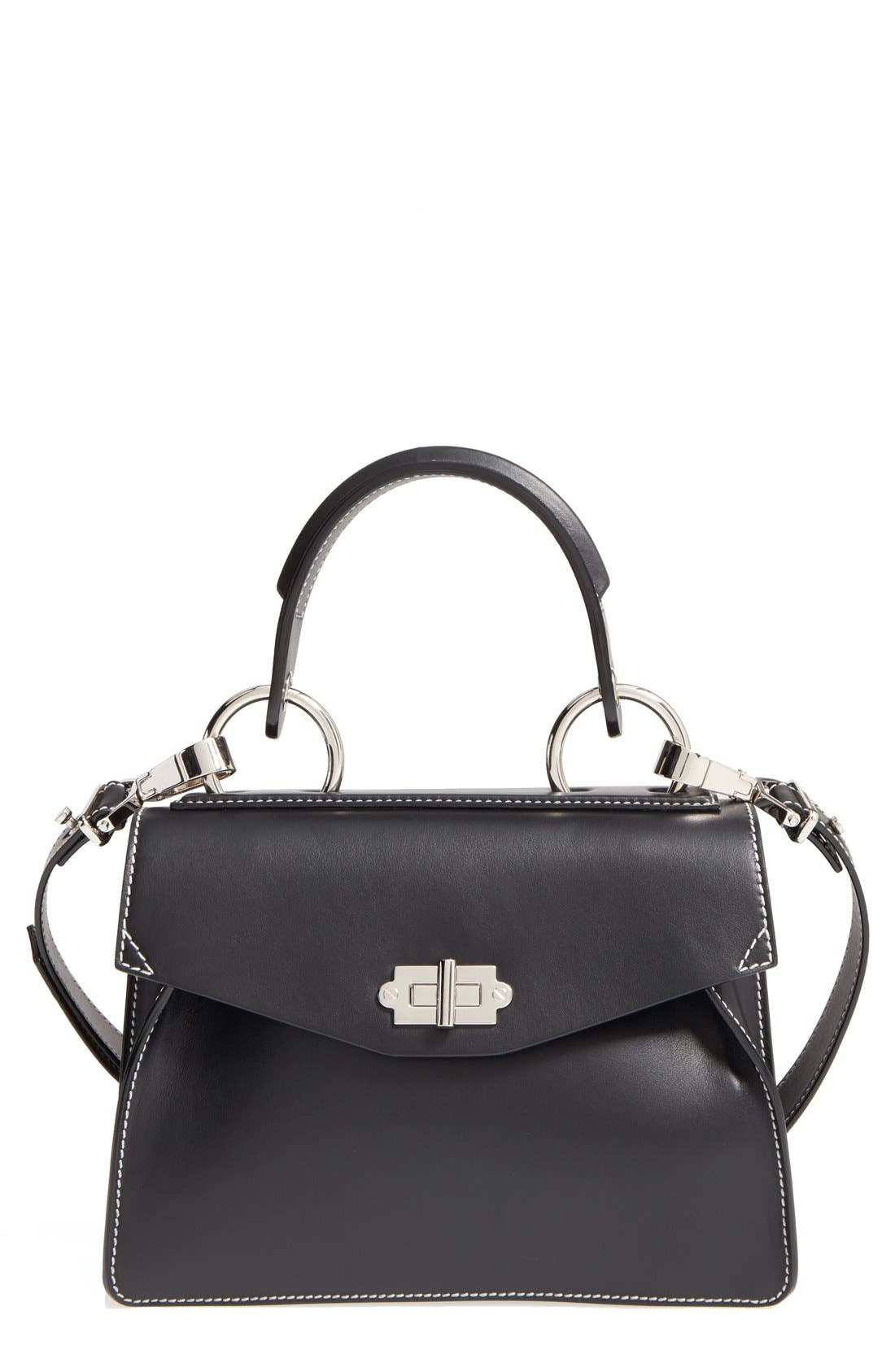 Main Image - Proenza Schouler 'Small Hava' Top Handle Calfskin Leather Satchel