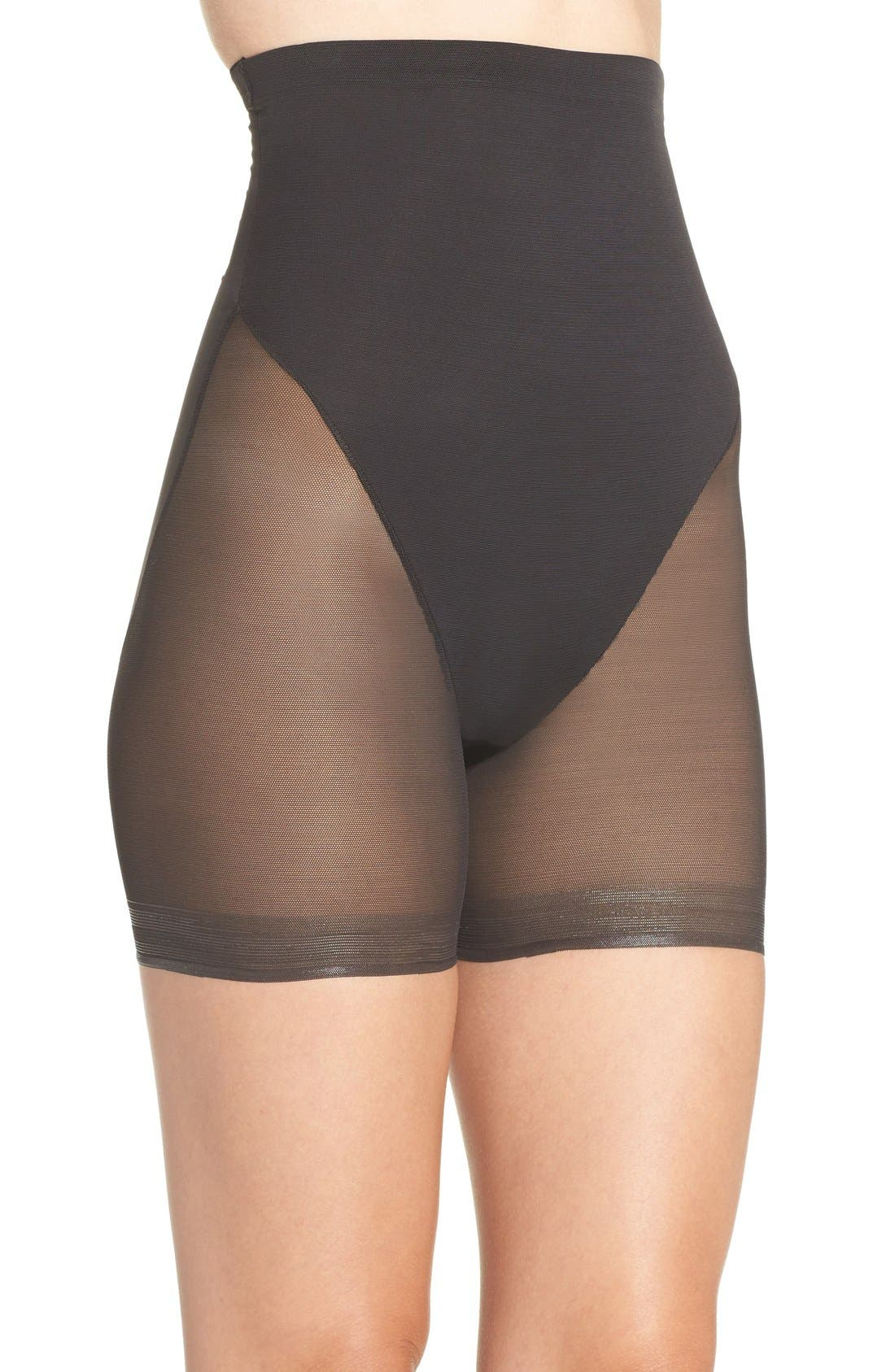 Alternate Image 3  - TC High Waist Shaping Shorts