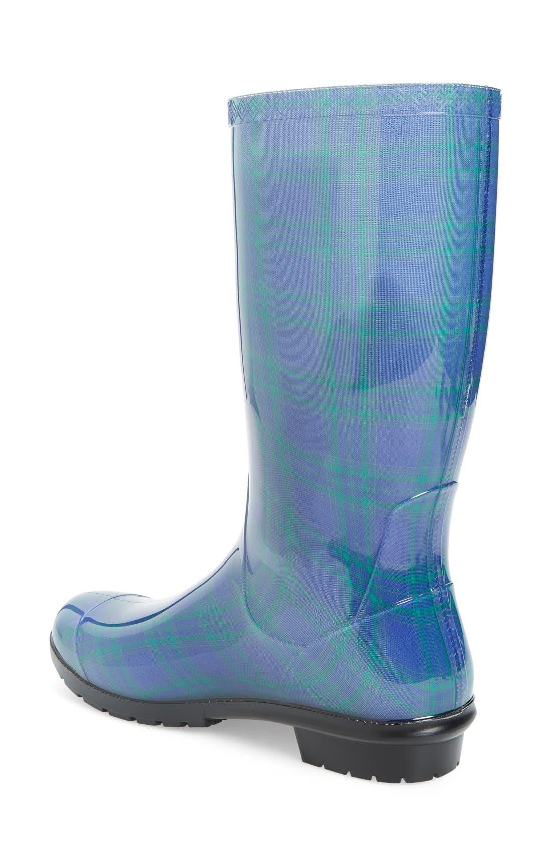 Alternate Image 2  - UGG® 'Shaye' Genuine Shearling Lined Waterproof Mid-Calf Rain Boot (Women)