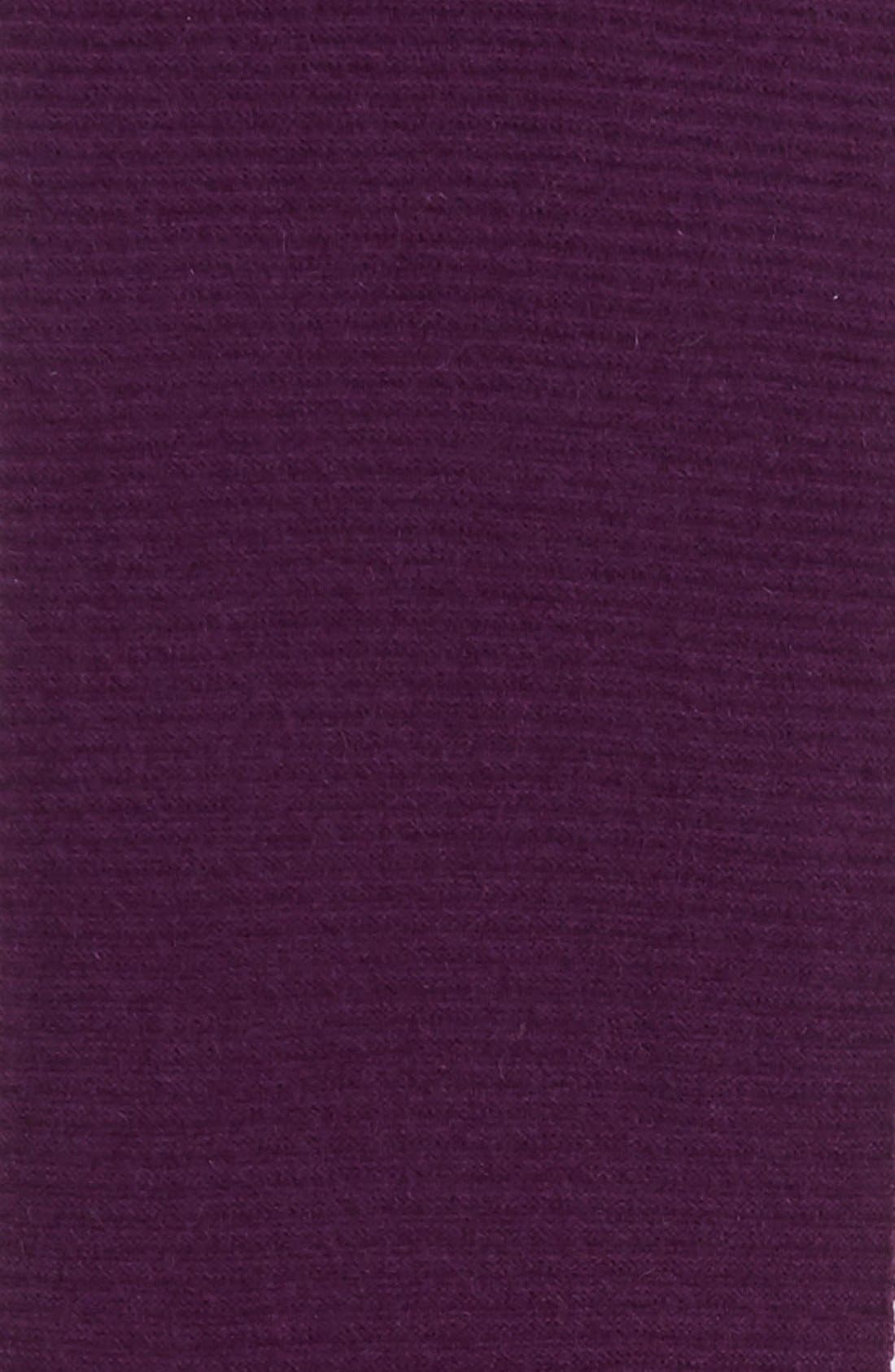 Alternate Image 3  - Halogen® Ribbed Cashmere Muffler