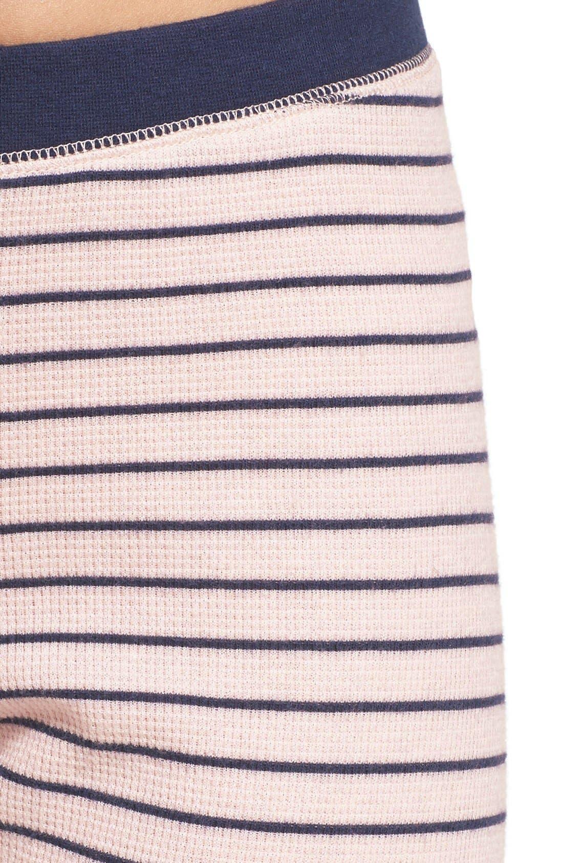 Alternate Image 4  - Nordstrom Lingerie Sleepyhead Thermal Pajamas