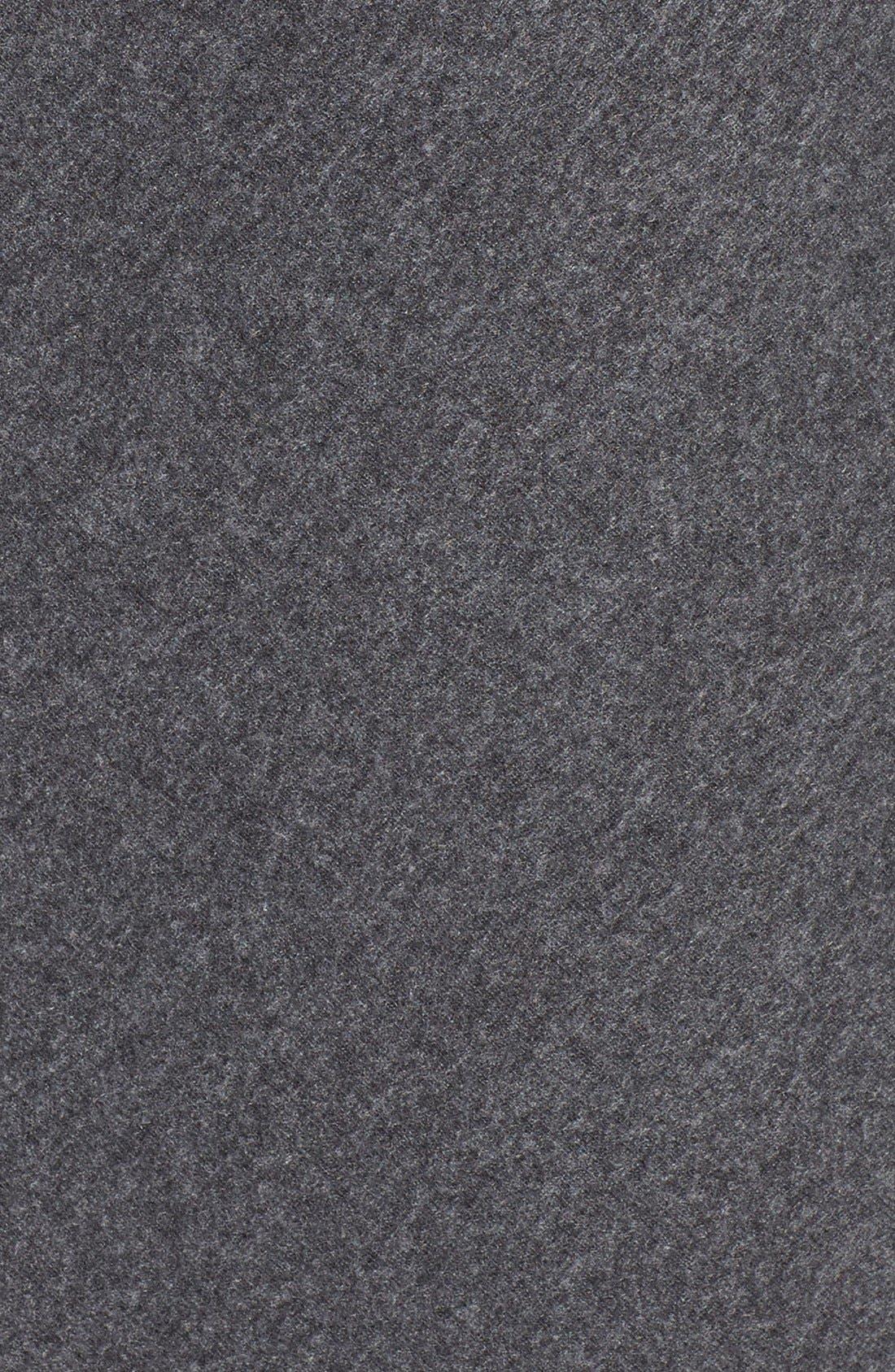 'Analyse' Faux Wrap Sheath Dress,                             Alternate thumbnail 6, color,                             Charcoal
