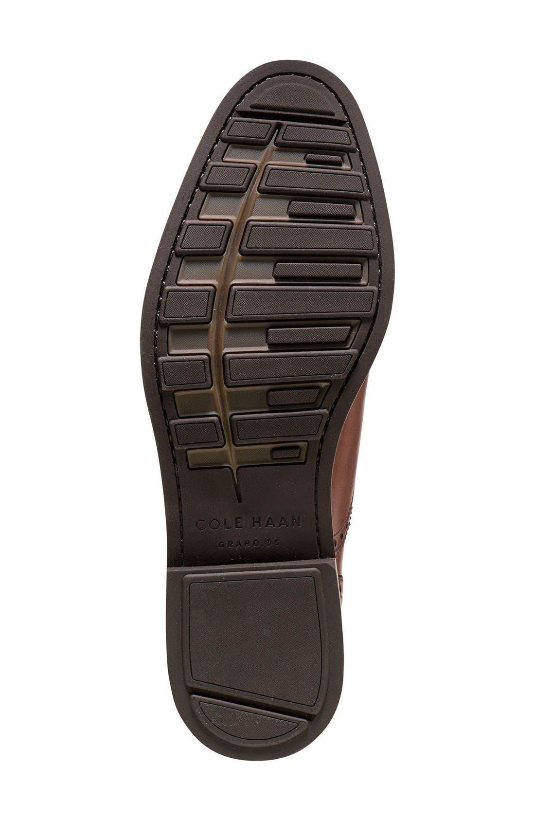 'Hamilton' Cap Toe Oxford,                             Alternate thumbnail 4, color,                             British Tan Leather