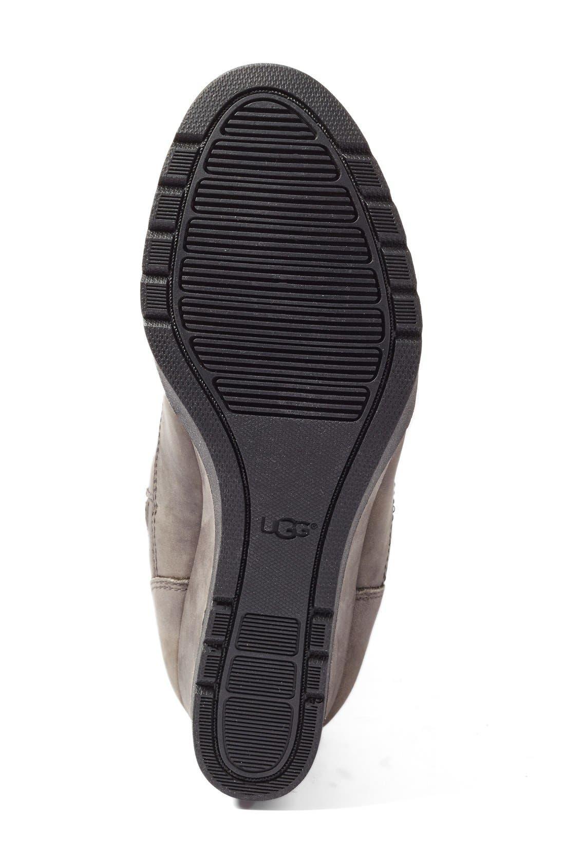 Alternate Image 4  - UGG® Joely Wedge Boot (Women)
