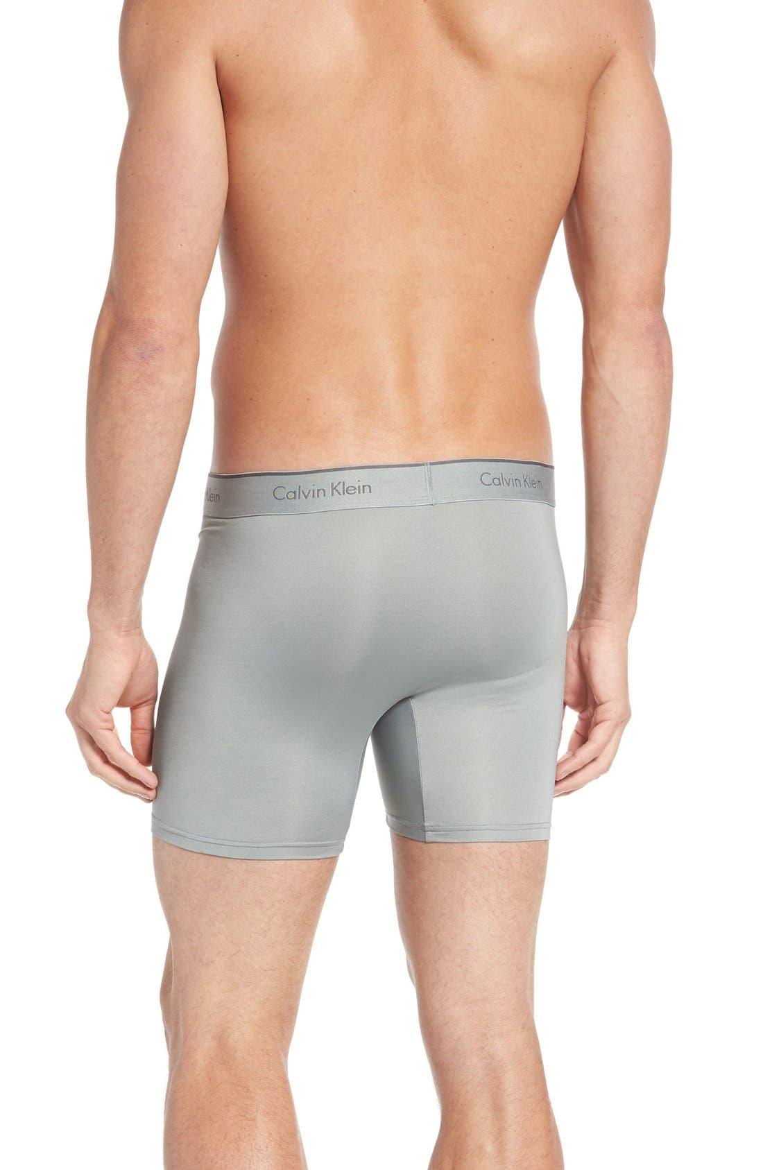 Alternate Image 3  - Calvin Klein 3-Pack Stretch Boxer Briefs