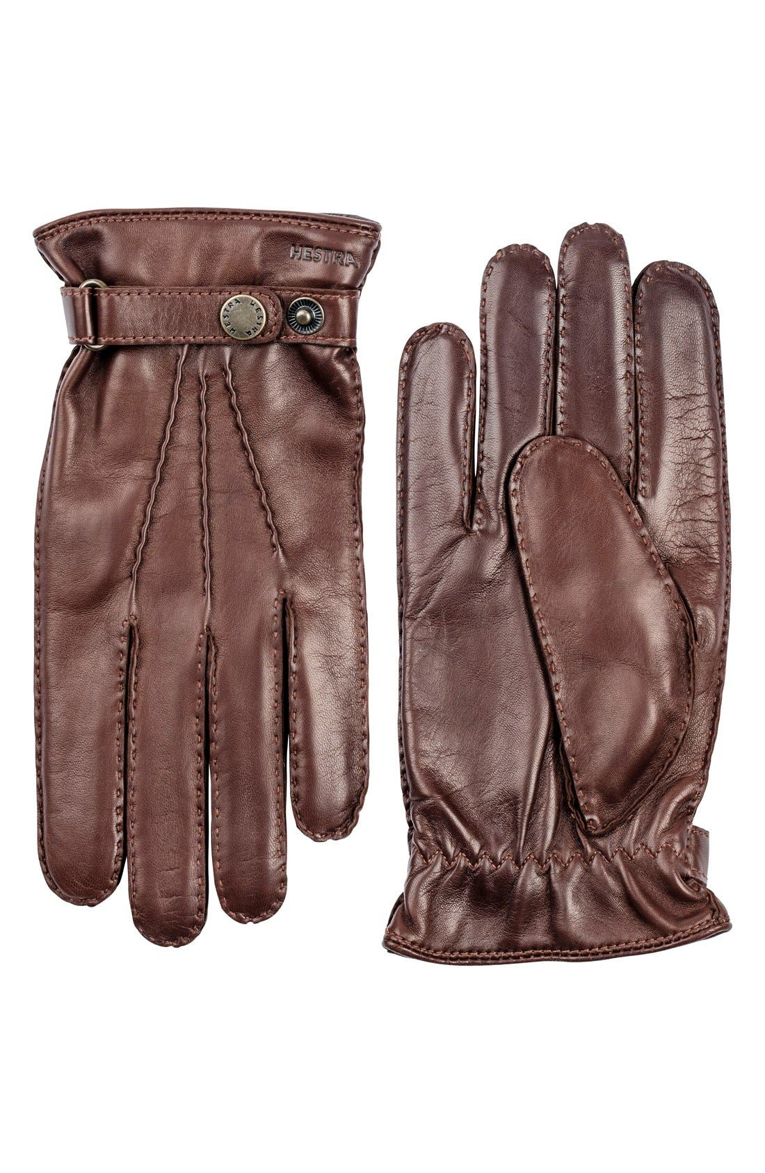 Hestra 'Jake' Leather Gloves