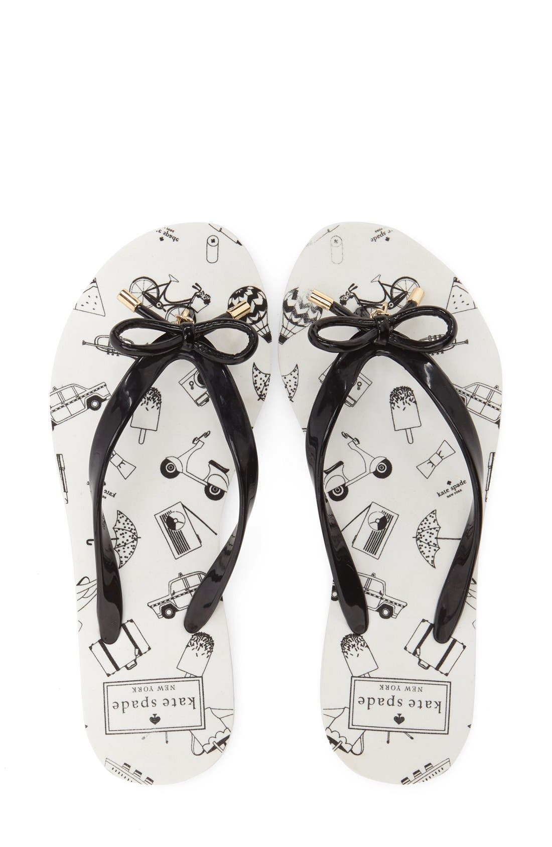 Alternate Image 3  - kate spade new york 'nova' flip flop (Women)
