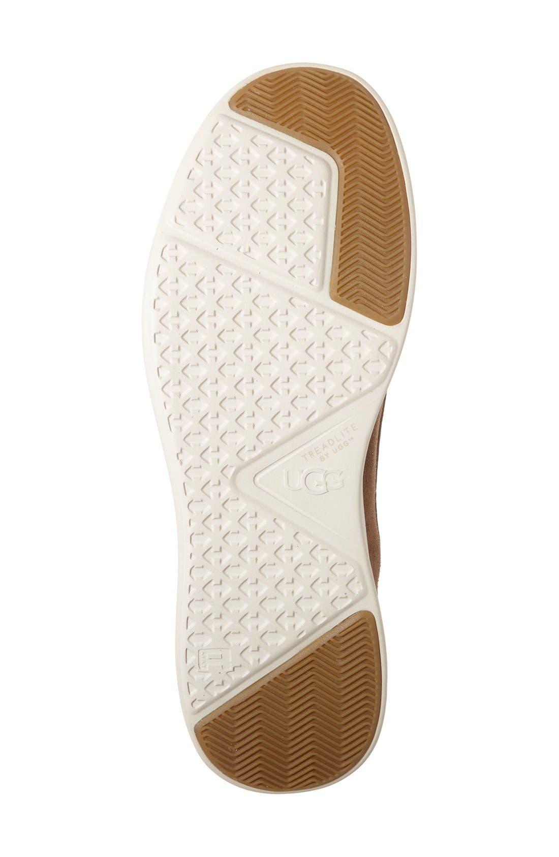 Alternate Image 4  - UGG® 'Lamont' High Top Sneaker (Men)