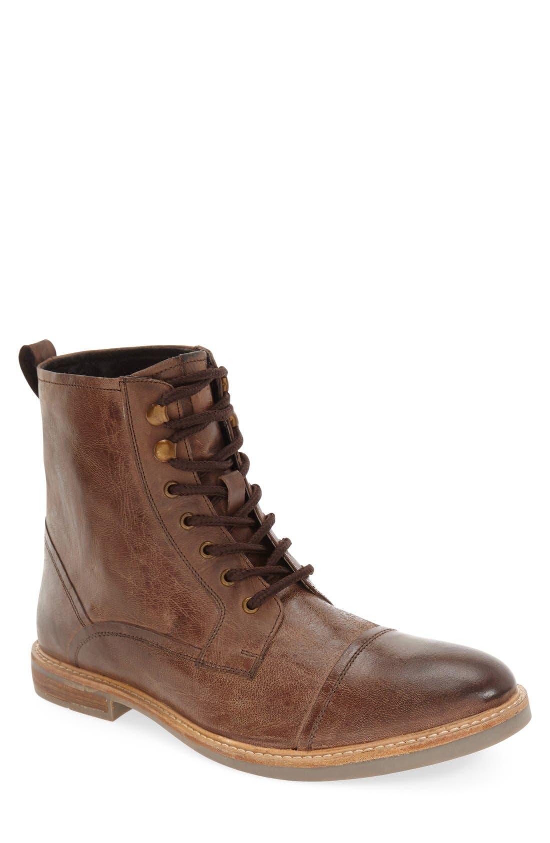 Main Image - Ben Sherman 'Luke' Cap Toe Boot (Men)
