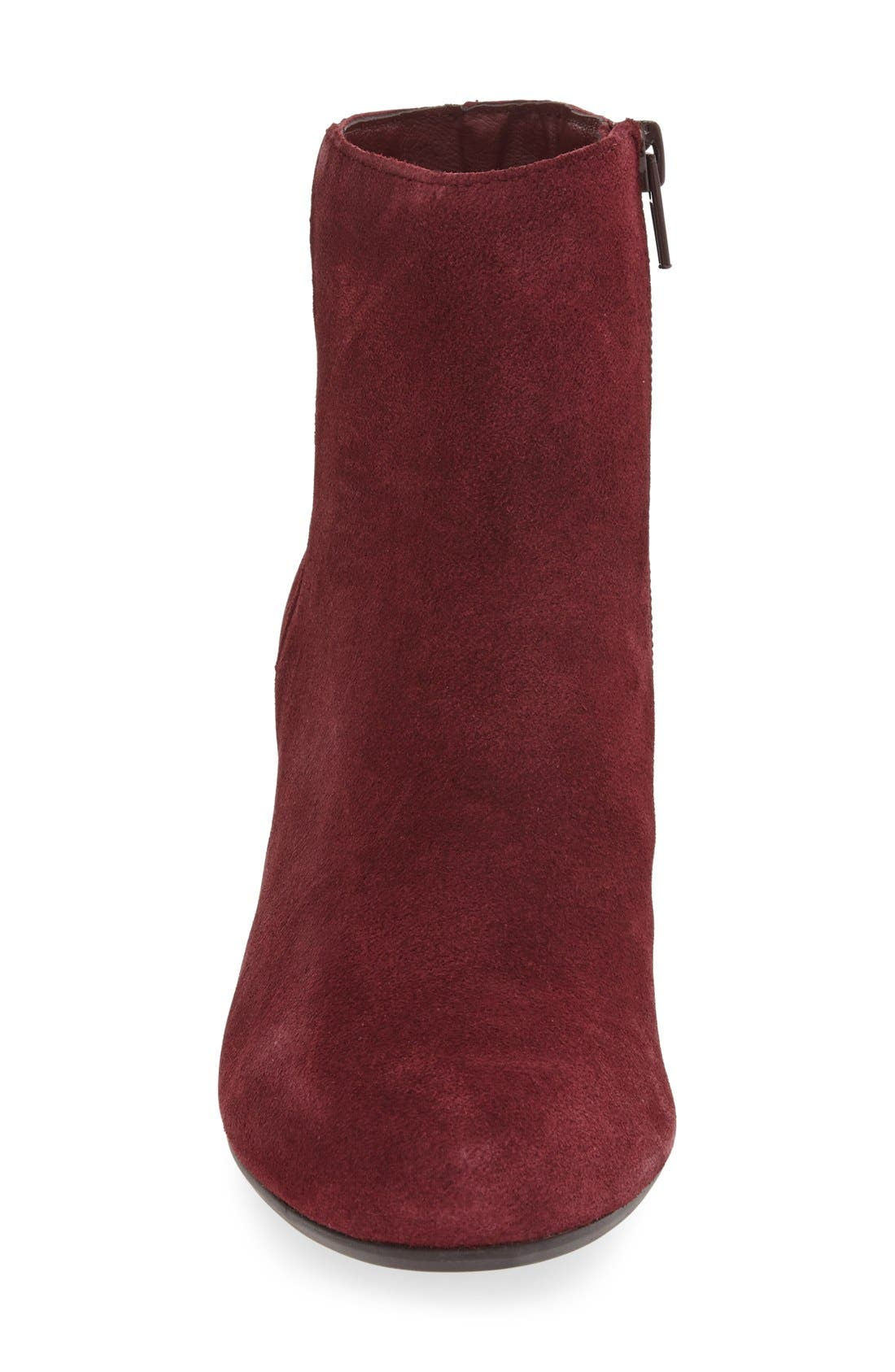 Holster Bootie,                             Alternate thumbnail 5, color,                             Burgundy Suede