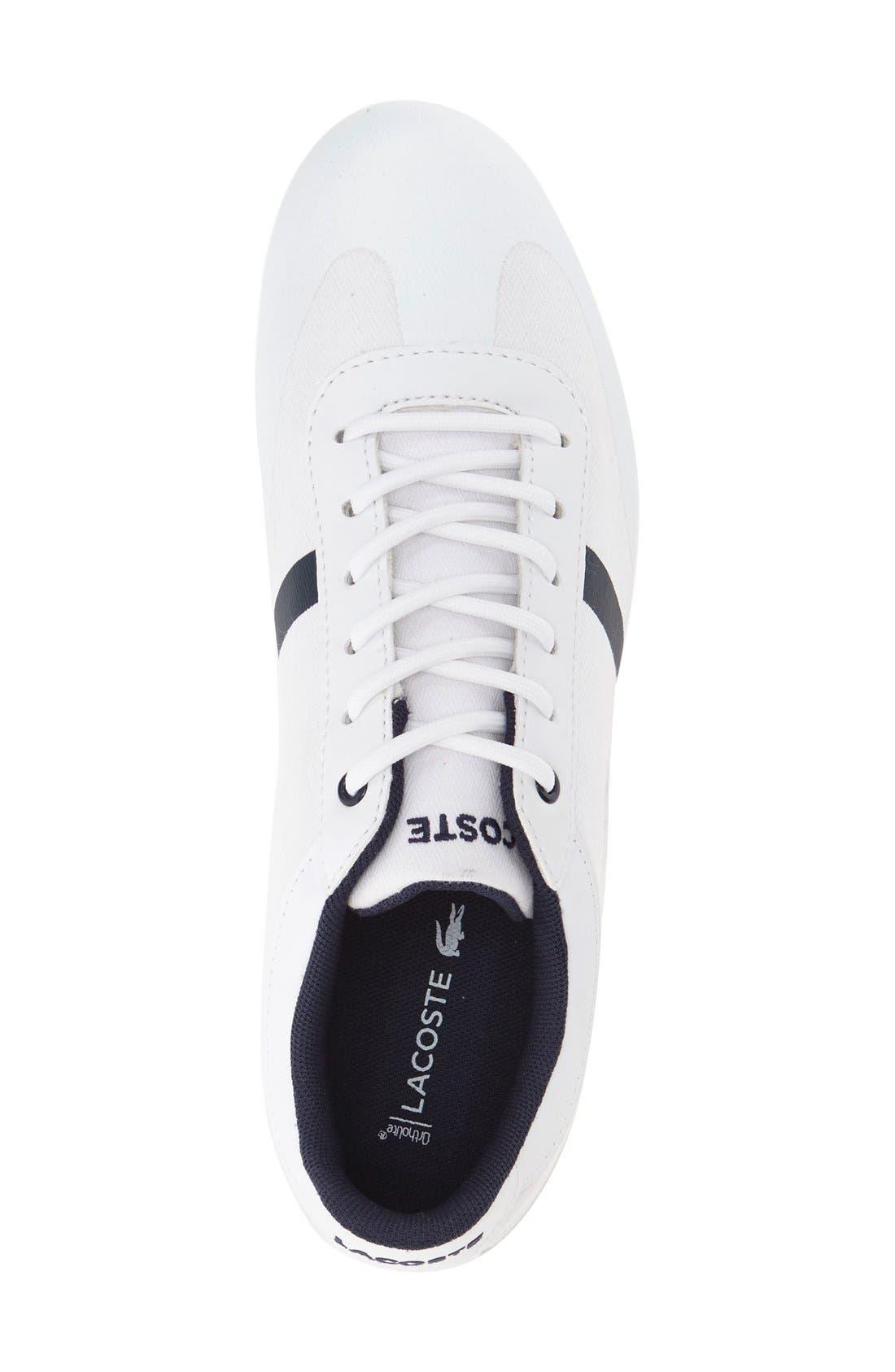'Misano' Sport Sneaker,                             Alternate thumbnail 3, color,                             White