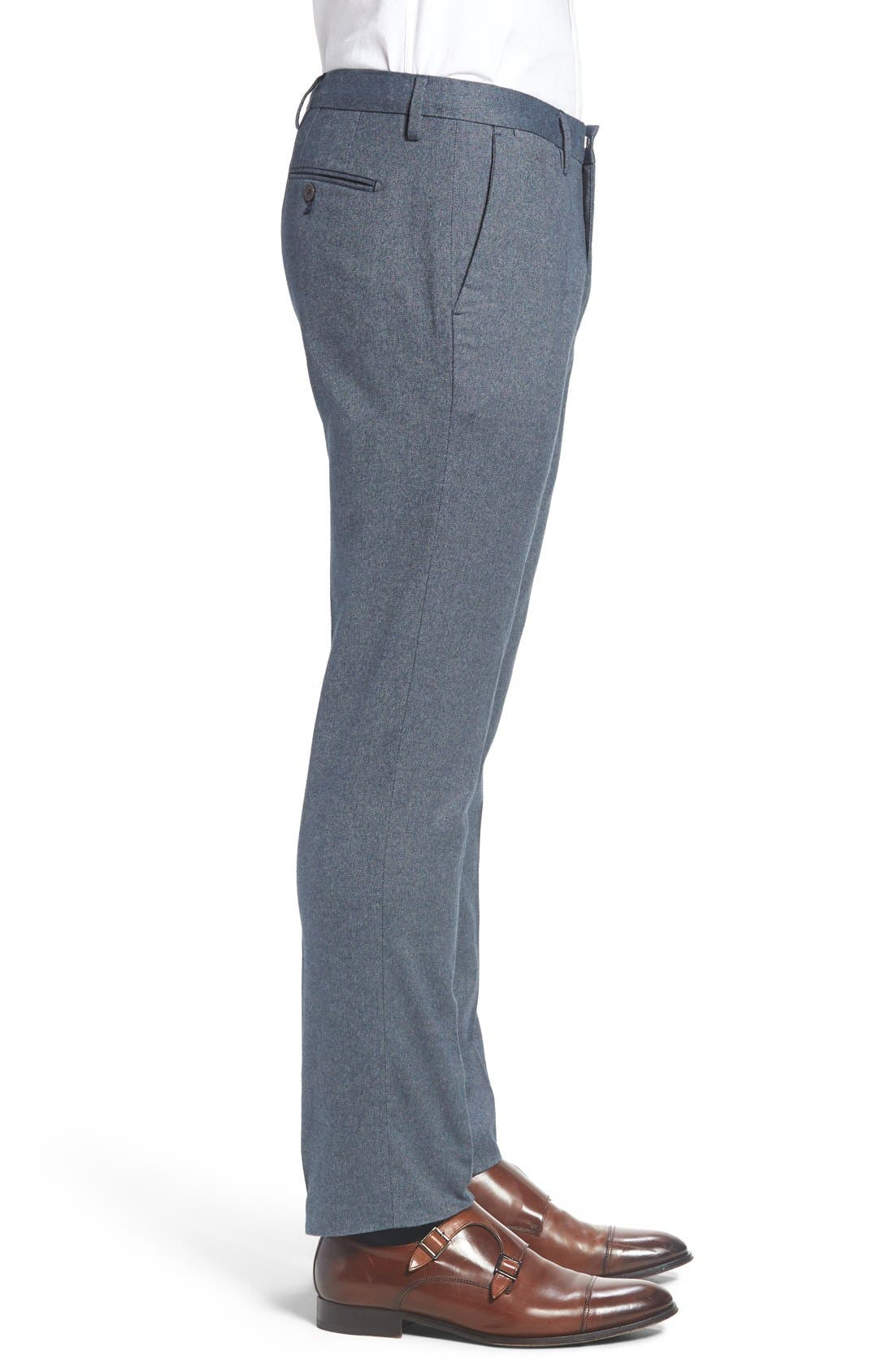 Alternate Image 3  - Bonobos Foundation Slim Fit Trousers