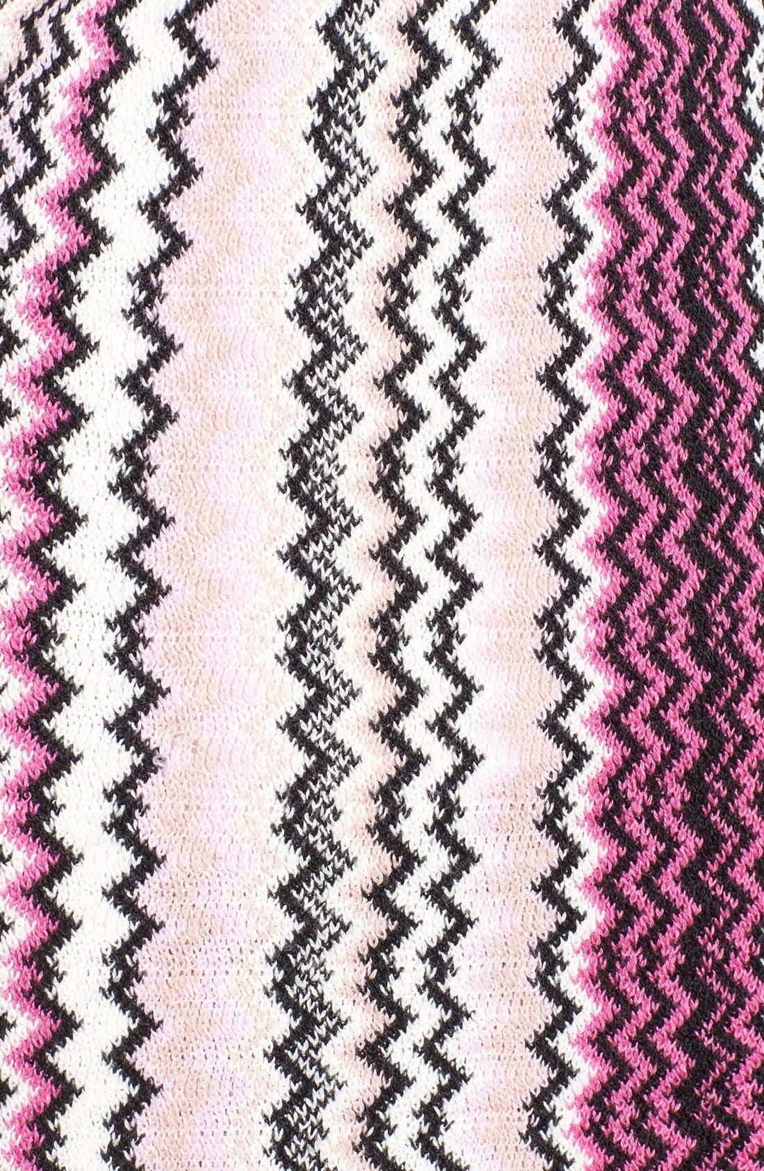 Alternate Image 2  - Missoni Knit Zigzag Fringe Scarf