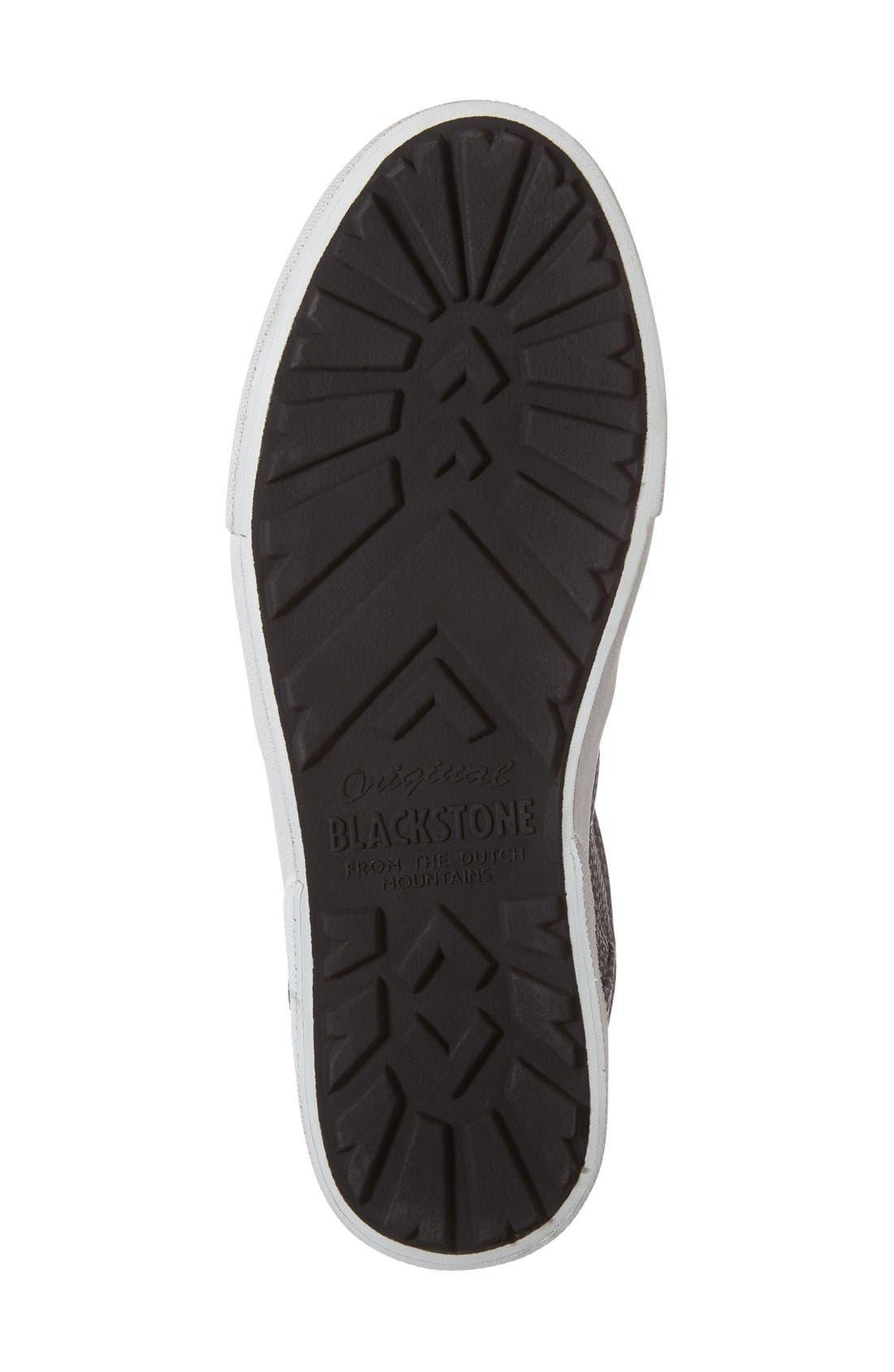 'KL51' Sneaker,                             Alternate thumbnail 4, color,                             Black Metallic Printed Leather