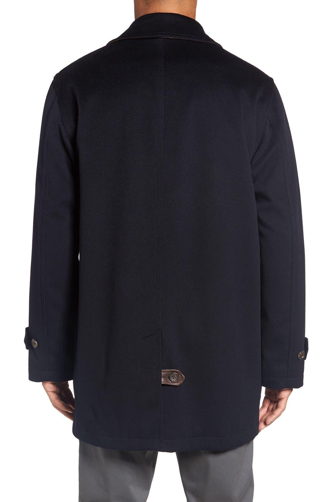 Alternate Image 2  - Golden Bear Wool Overcoat