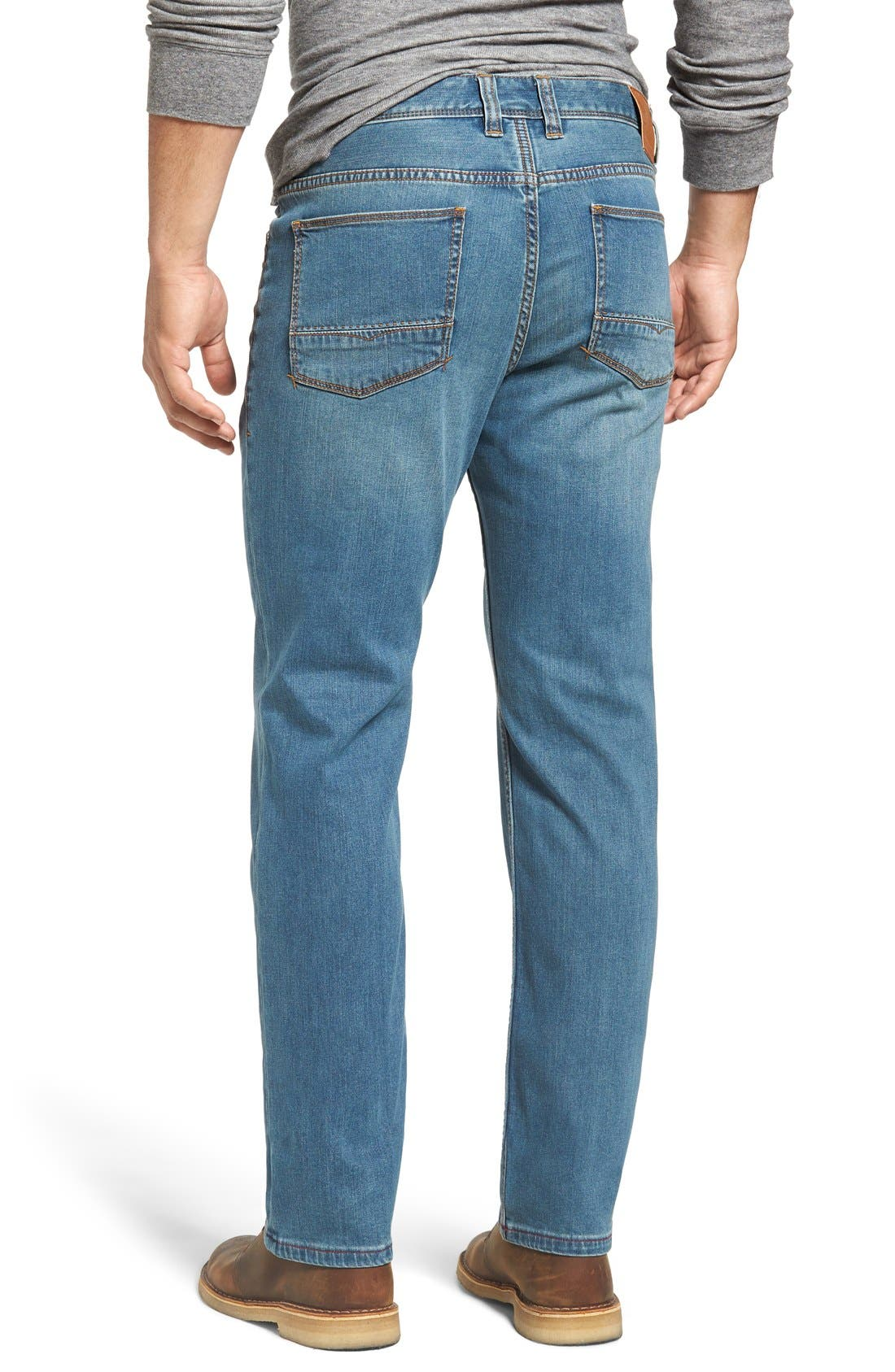 Sand Drifter Straight Leg Jeans,                             Alternate thumbnail 2, color,                             Vintage Wash