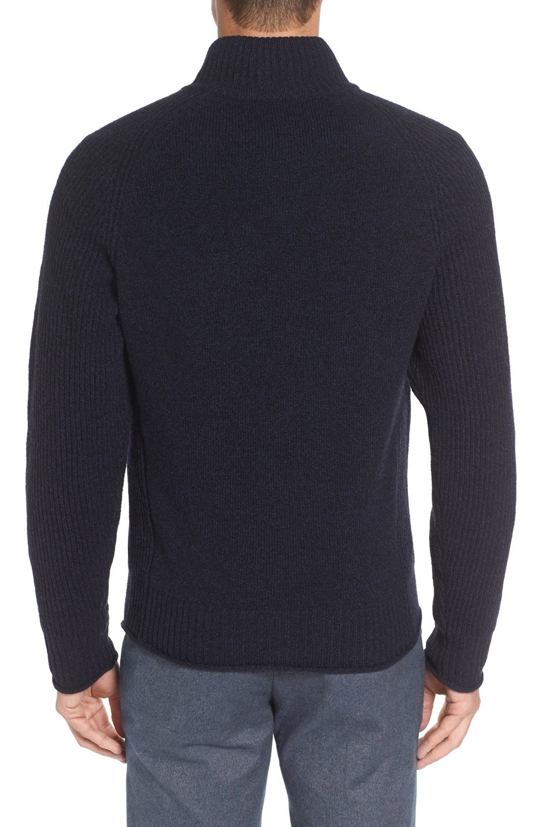 Stredwick Lambswool Sweater,                             Alternate thumbnail 2, color,                             Midnight
