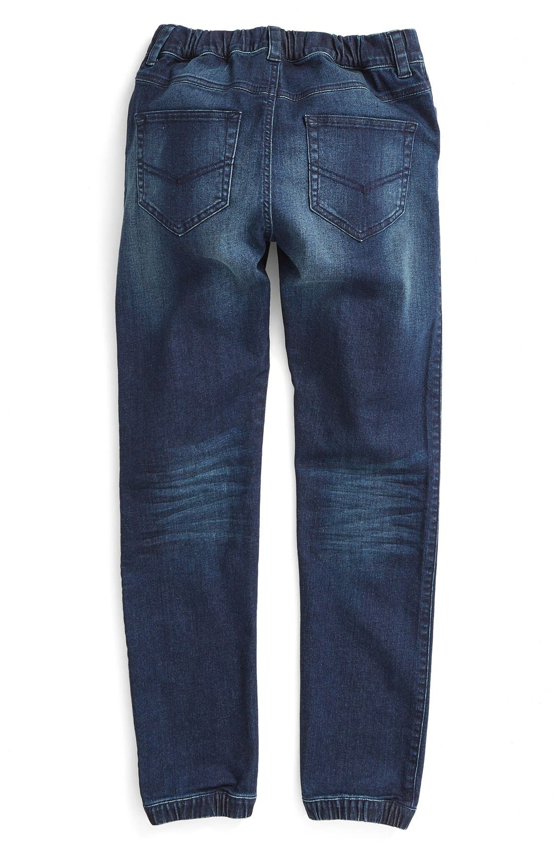 Alternate Image 2  - Tucker + Tate Stretch Denim Jogger Pants (Big Boys)