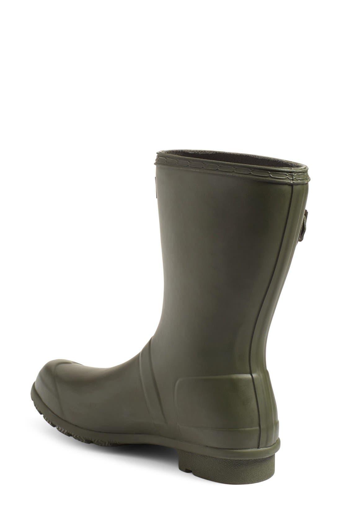 Alternate Image 2  - Hunter Original Tour Short Packable Rain Boot (Women)