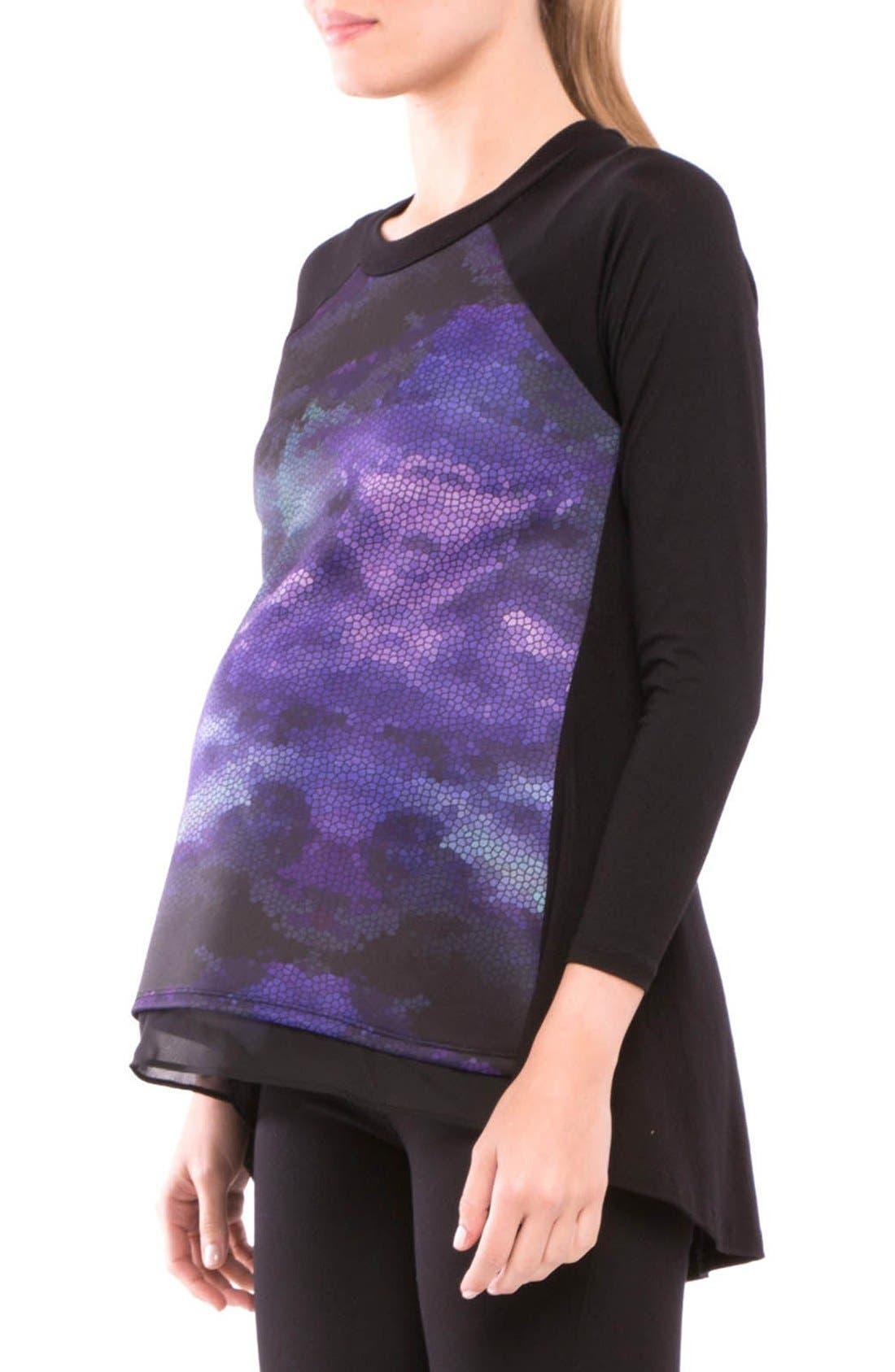 Alternate Image 3  - Olian Gabriella Maternity Top