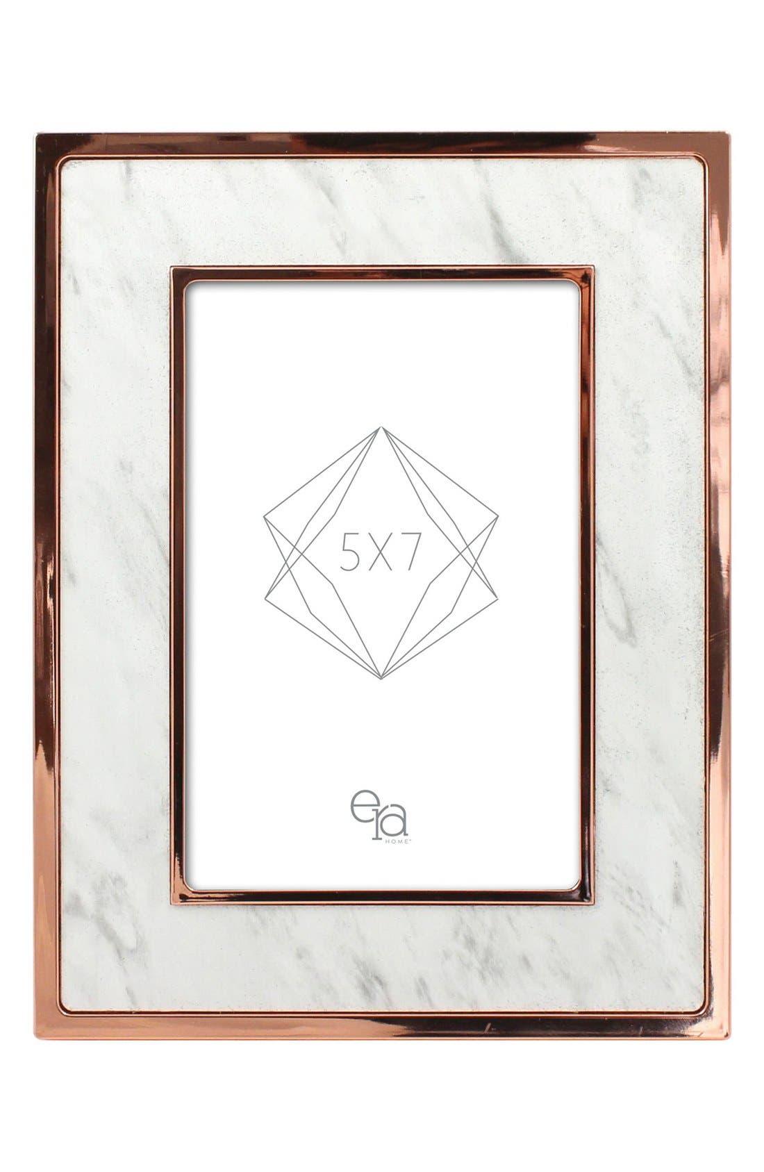 Marbled Frame,                         Main,                         color, Marble/ Rose Gold