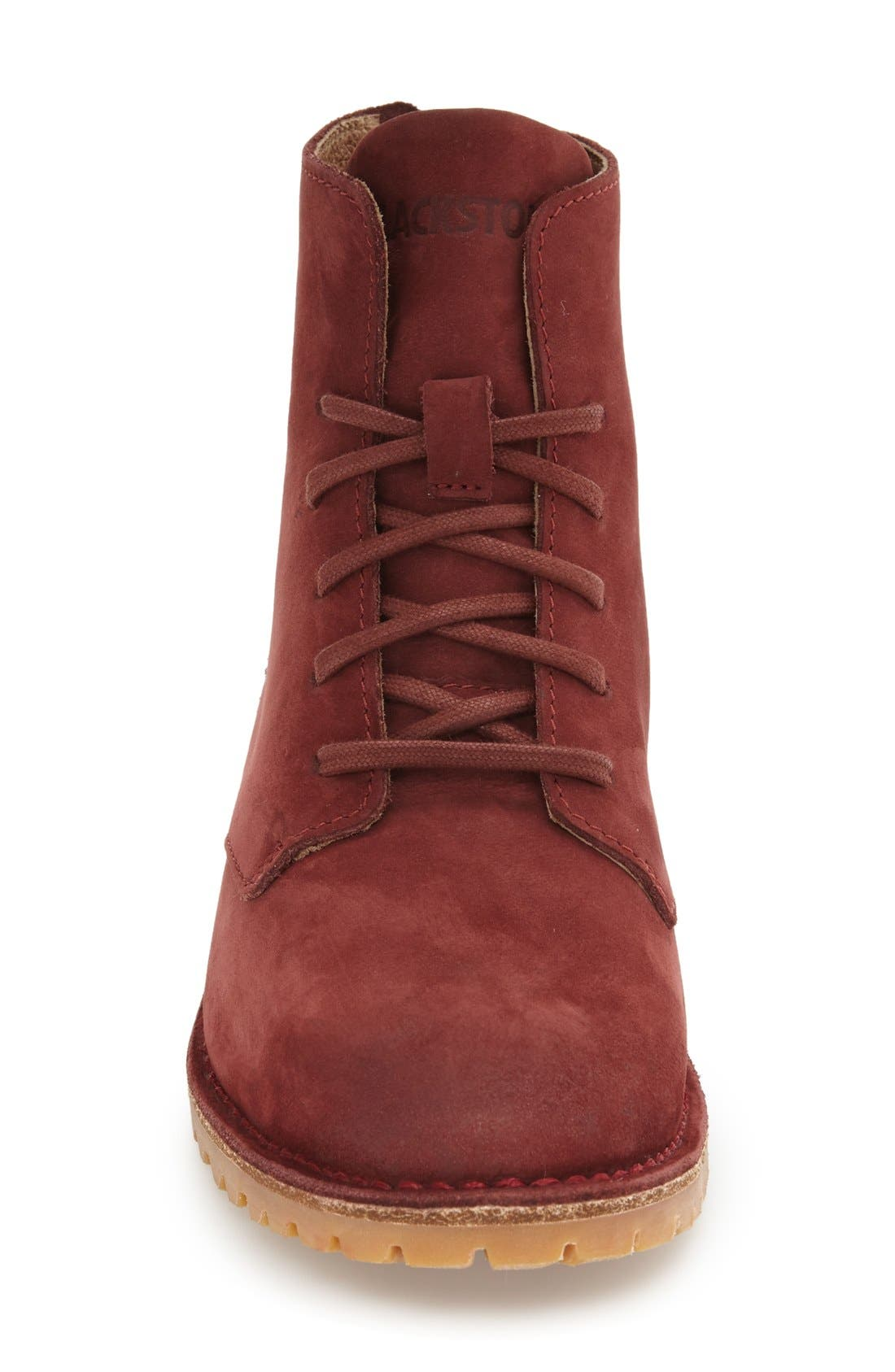 'KL67' Lace-Up Boot,                             Alternate thumbnail 3, color,                             Cordovan Nubuck Leather
