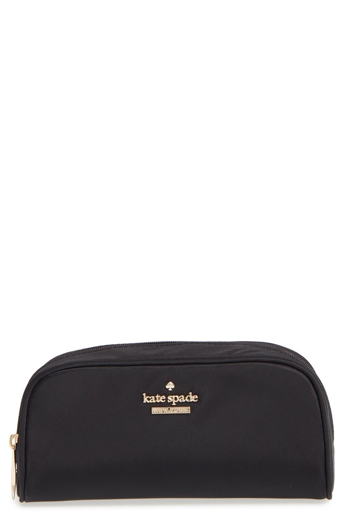 kate spade new york 'classic berrie' floral cosmetics case