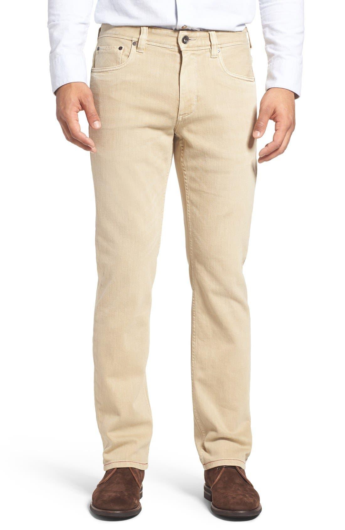 Weft Side Keys Pants,                         Main,                         color, Chino
