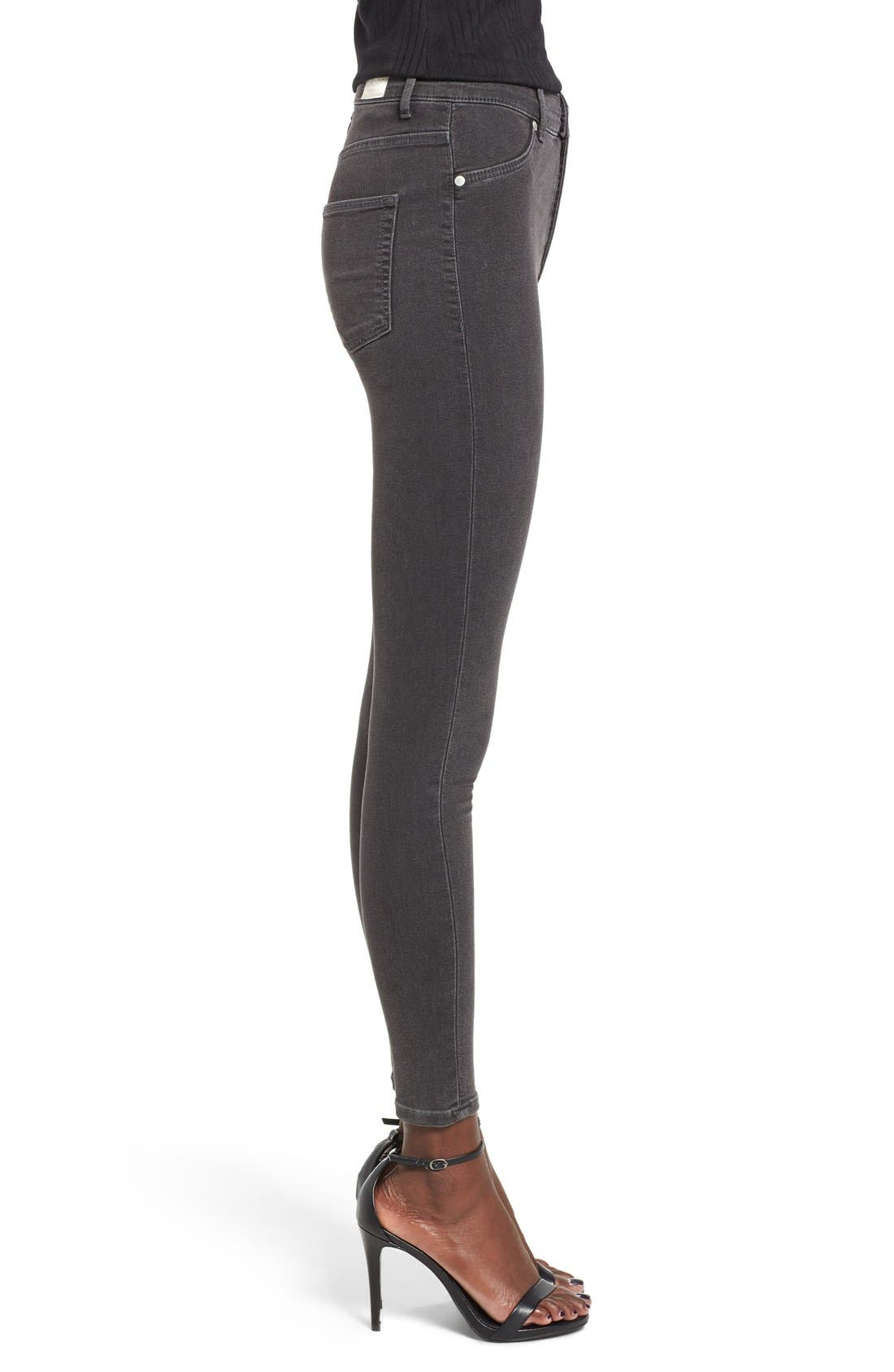 Alternate Image 3  - Cheap Monday High Rise Skinny Jeans