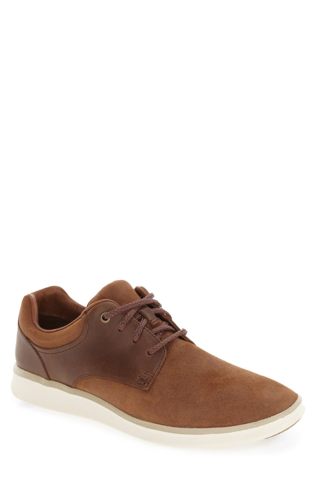 'Hepner' Sneaker,                             Main thumbnail 1, color,                             Chestnut