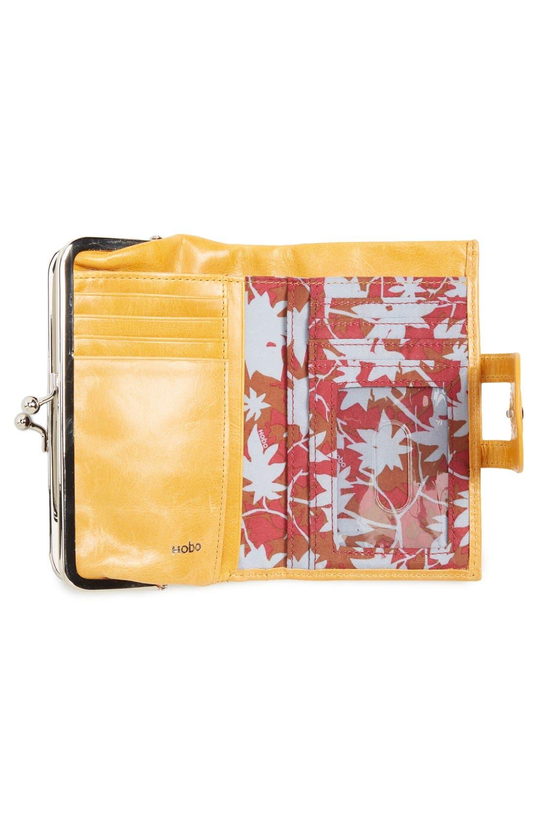 Alternate Image 4  - Hobo 'Alice' Leather Wallet