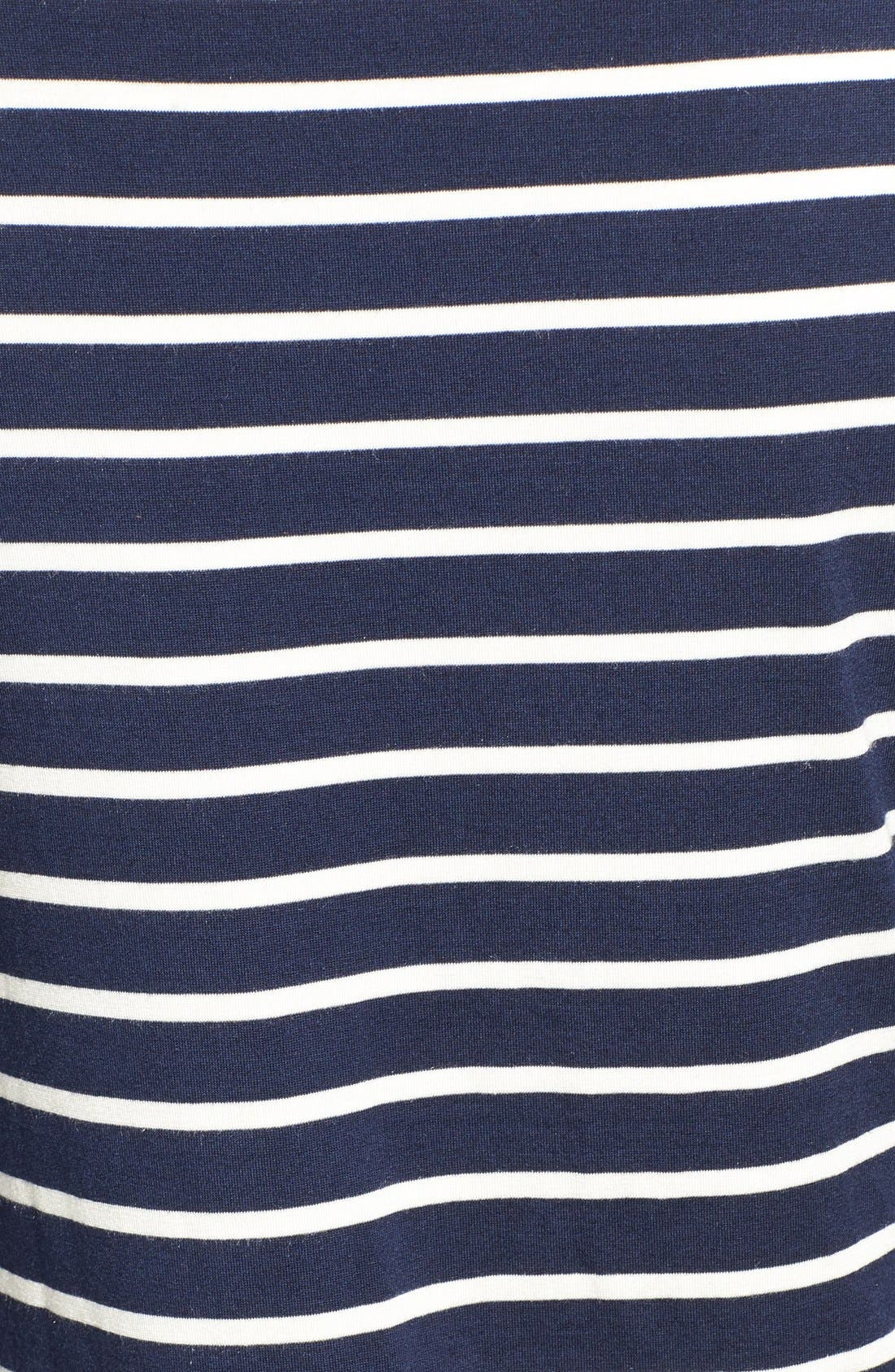 Francoise Stripe Top,                             Alternate thumbnail 5, color,                             Basque Stripe